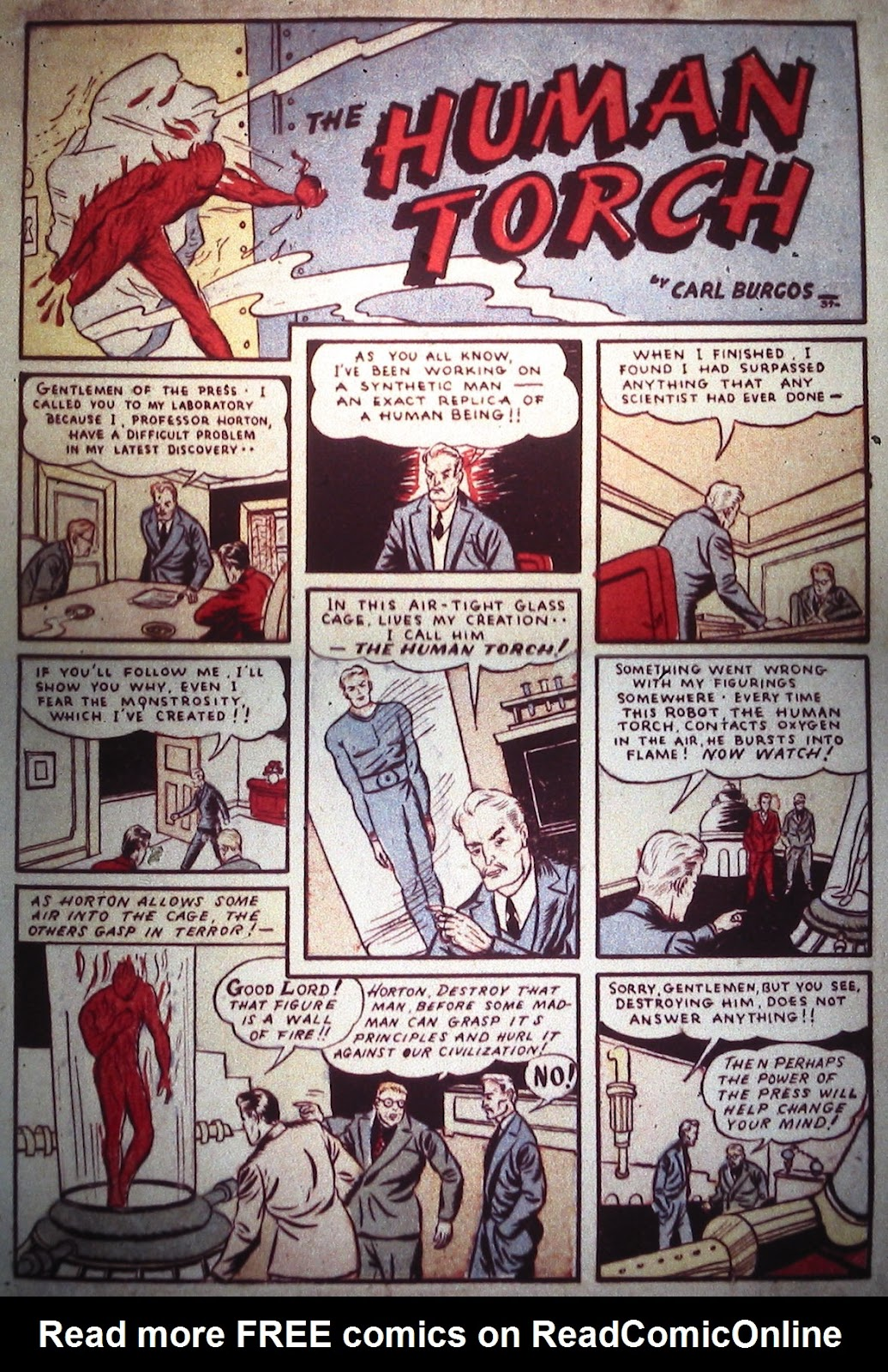 Marvel Comics (1939) issue Full - Page 3