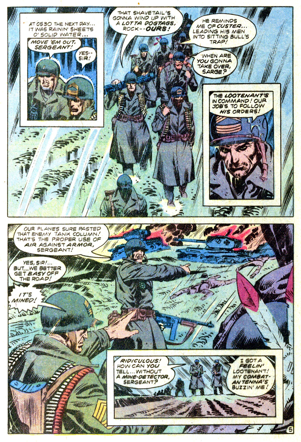 Read online Sgt. Rock comic -  Issue #340 - 5