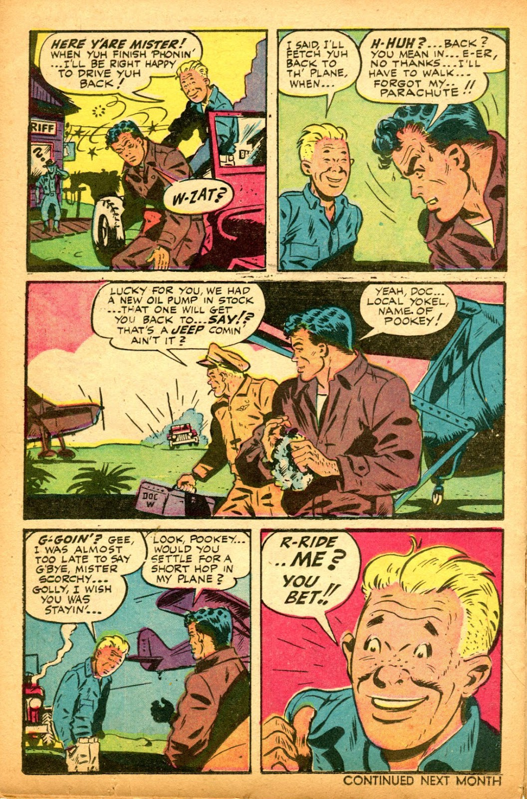 Read online Famous Funnies comic -  Issue #151 - 36