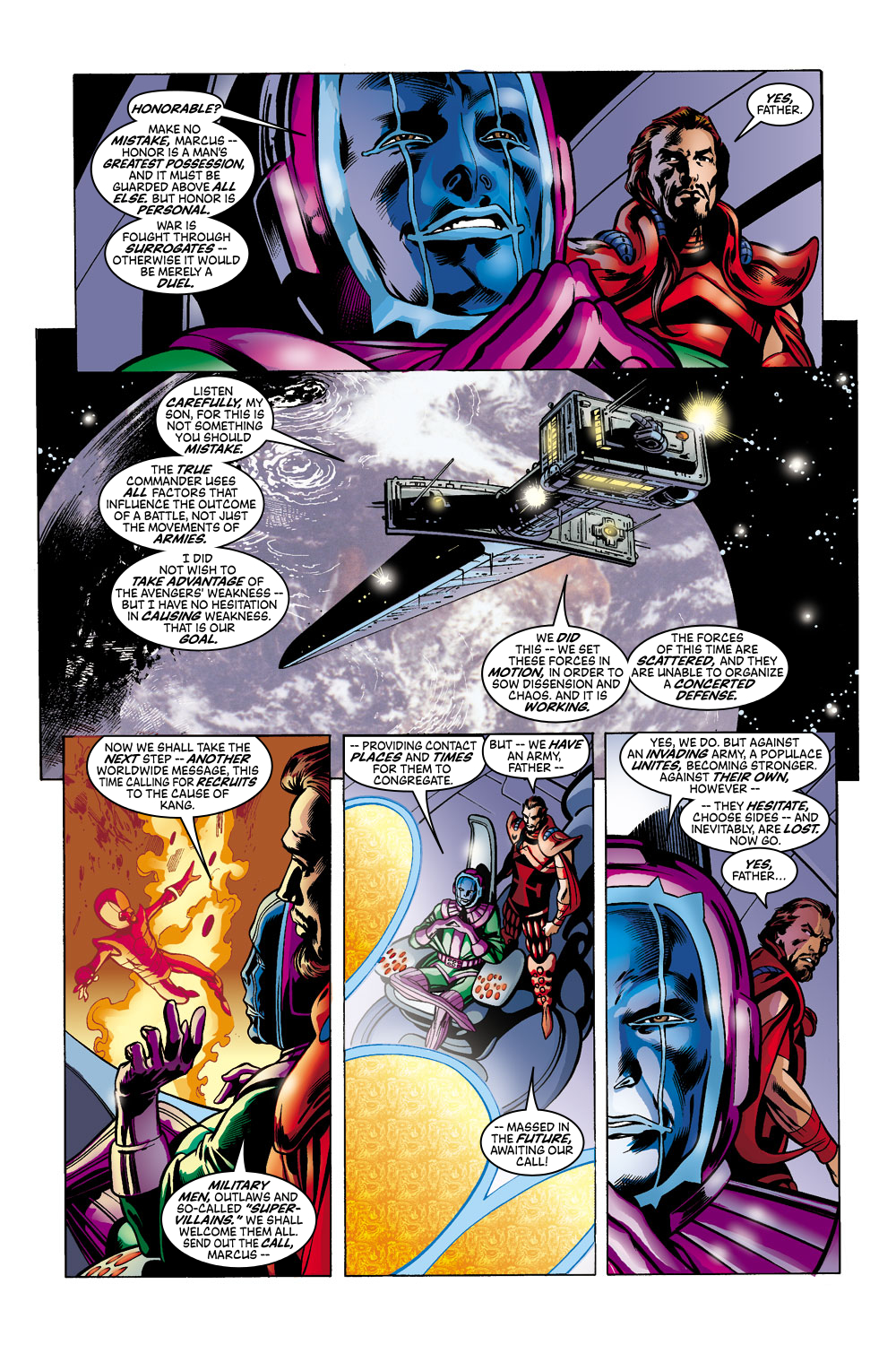 Read online Avengers (1998) comic -  Issue #43 - 18