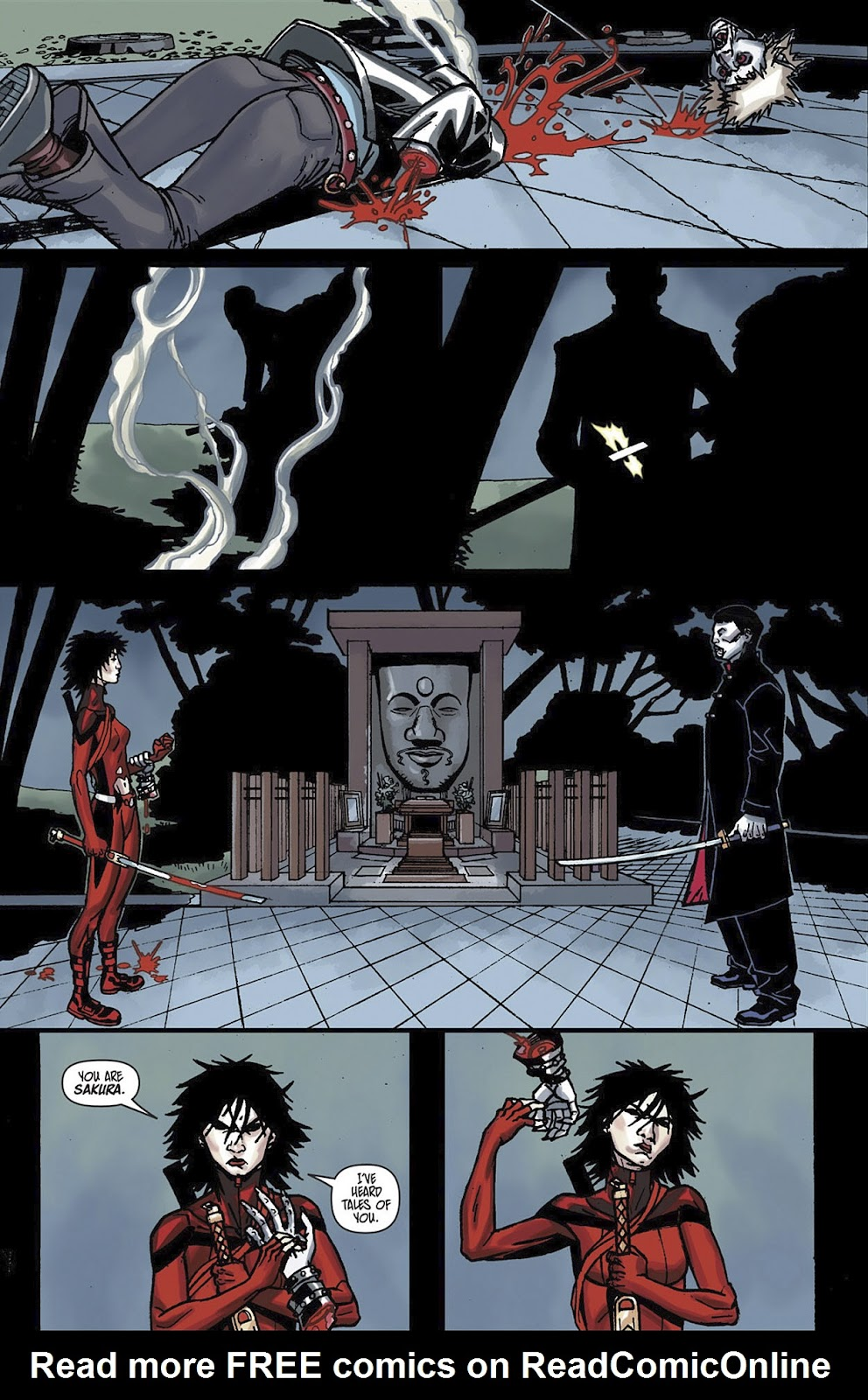 Read online Shinku comic -  Issue #3 - 21