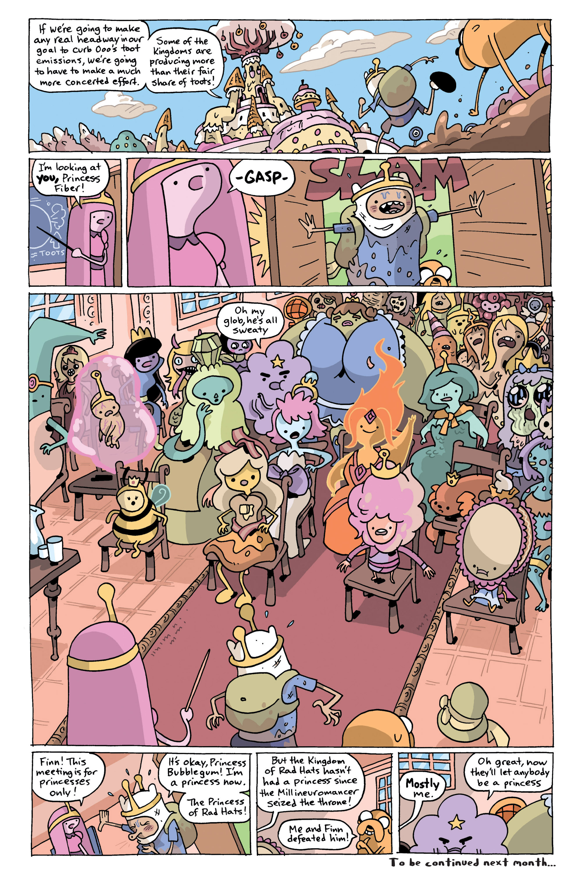 Read online Adventure Time comic -  Issue #13 - 27
