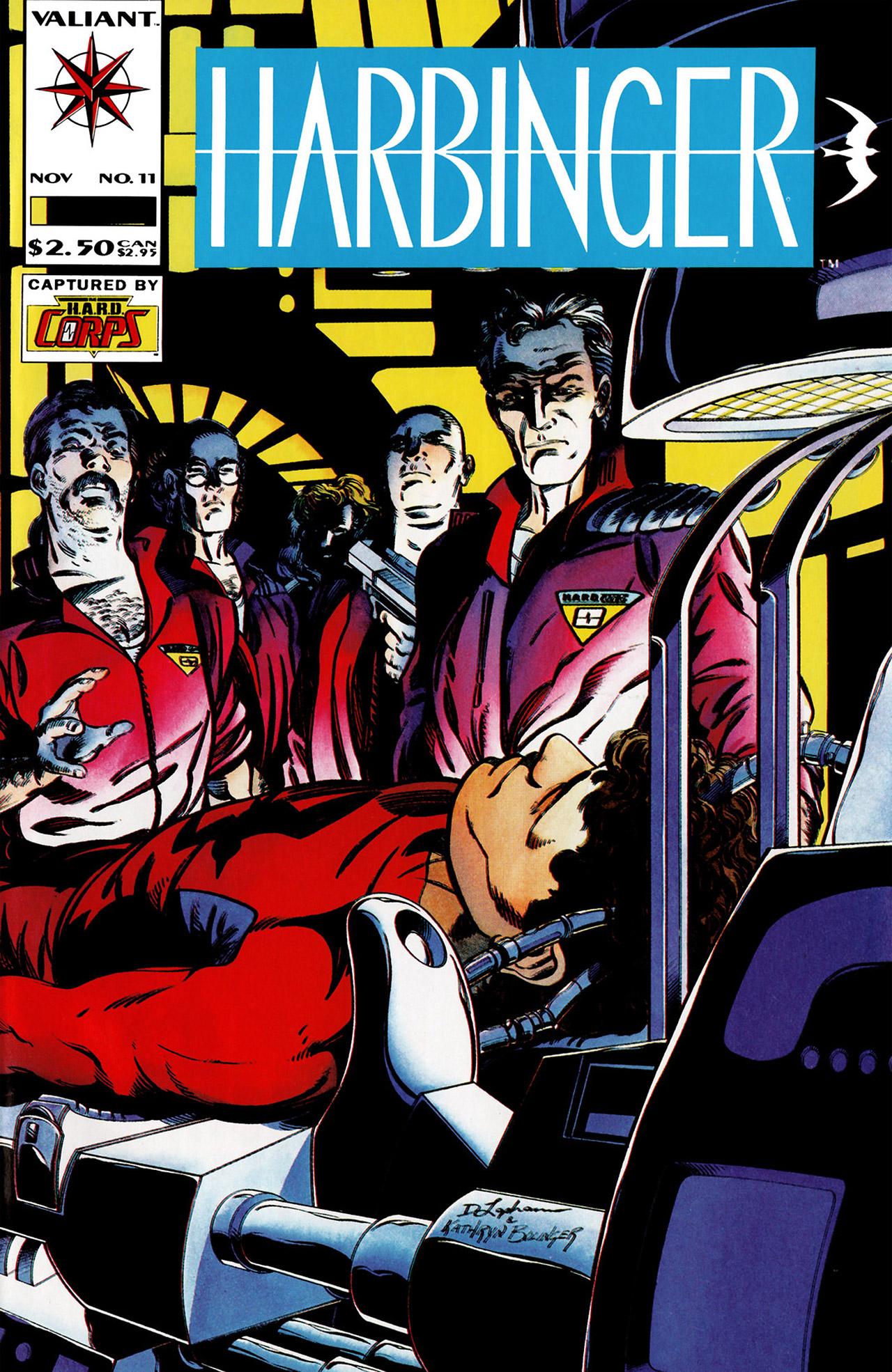 Read online Harbinger (1992) comic -  Issue #11 - 1
