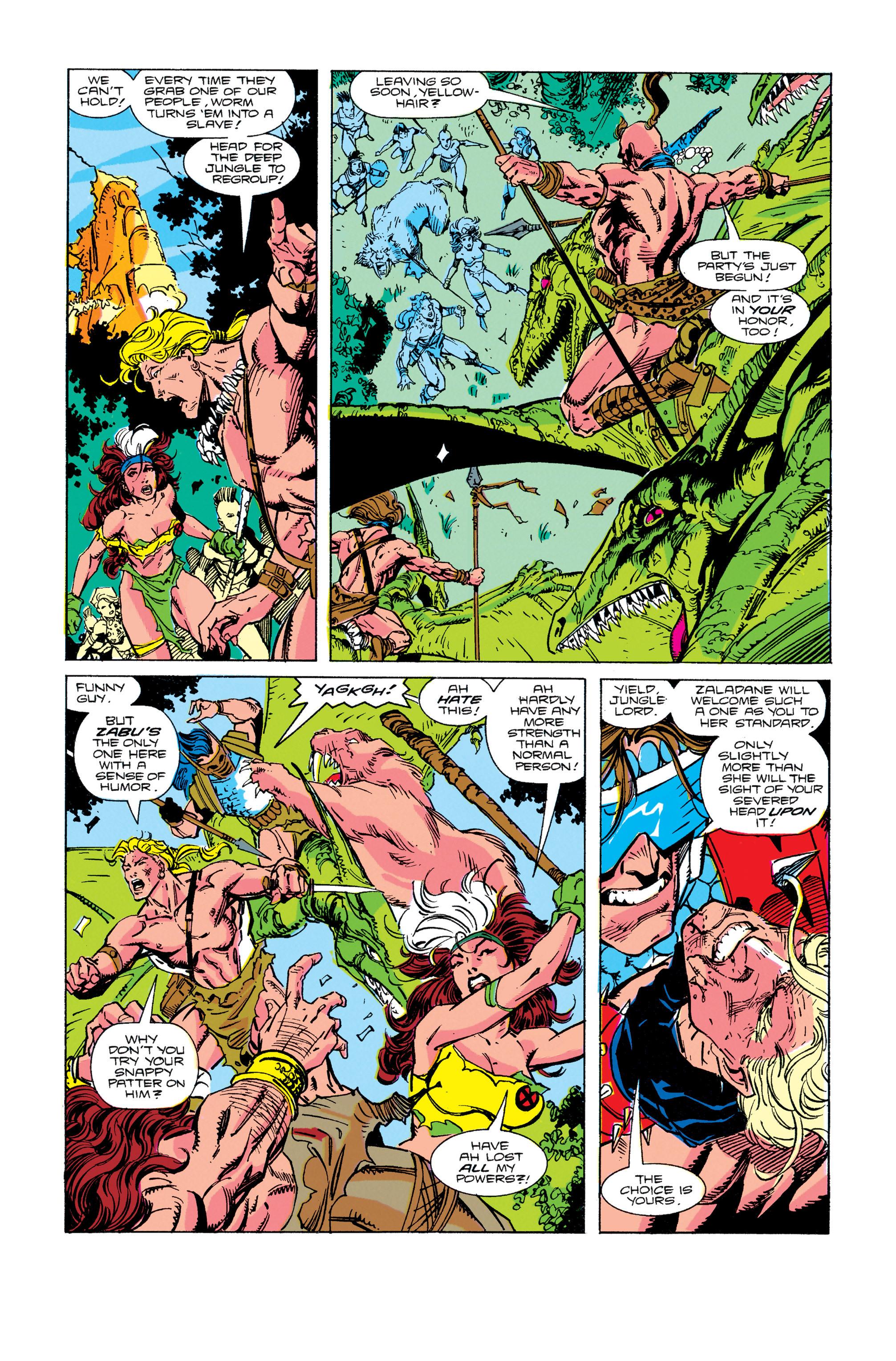 Read online Uncanny X-Men (1963) comic -  Issue #274 - 14