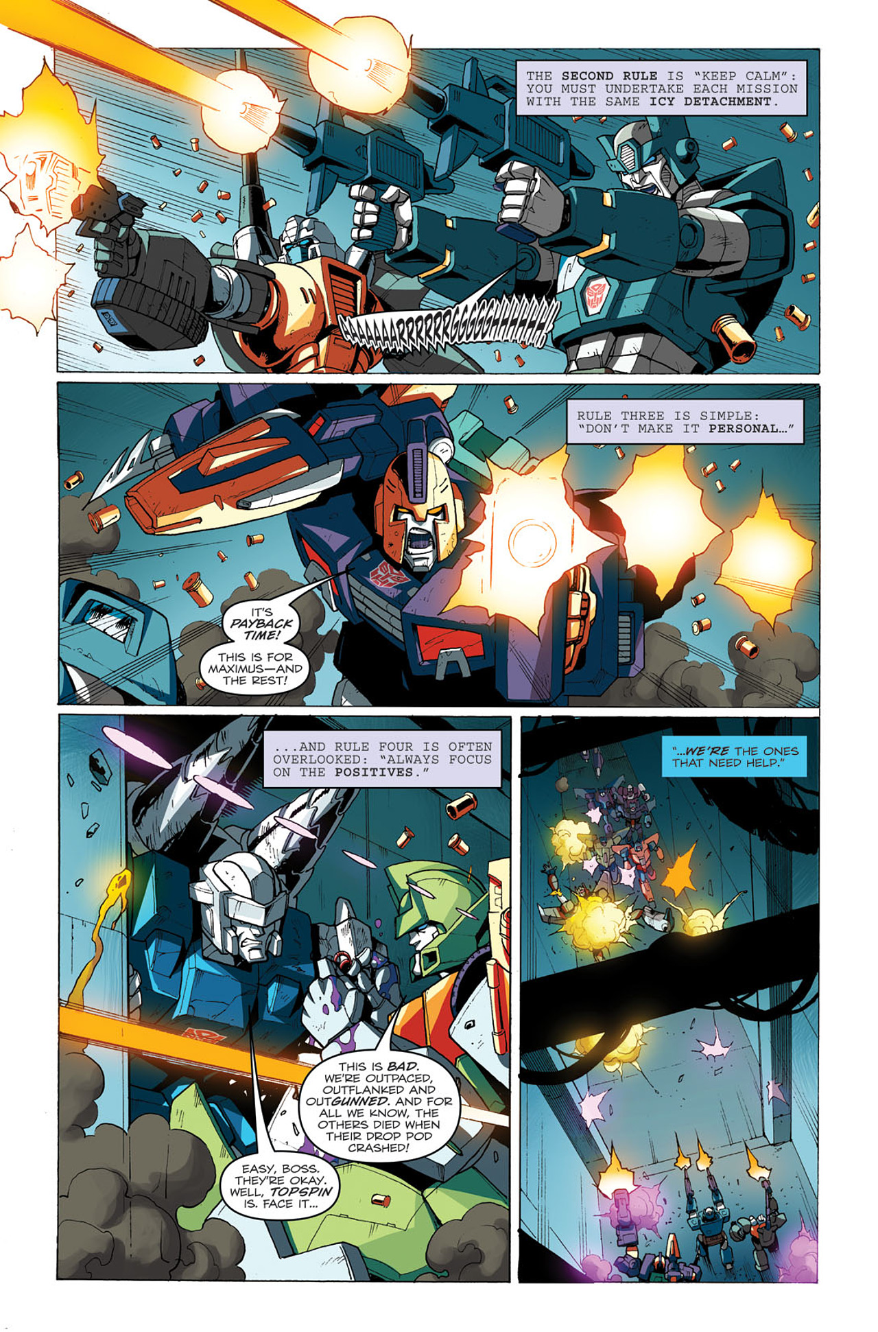 Read online Transformers: Last Stand of The Wreckers comic -  Issue #3 - 8
