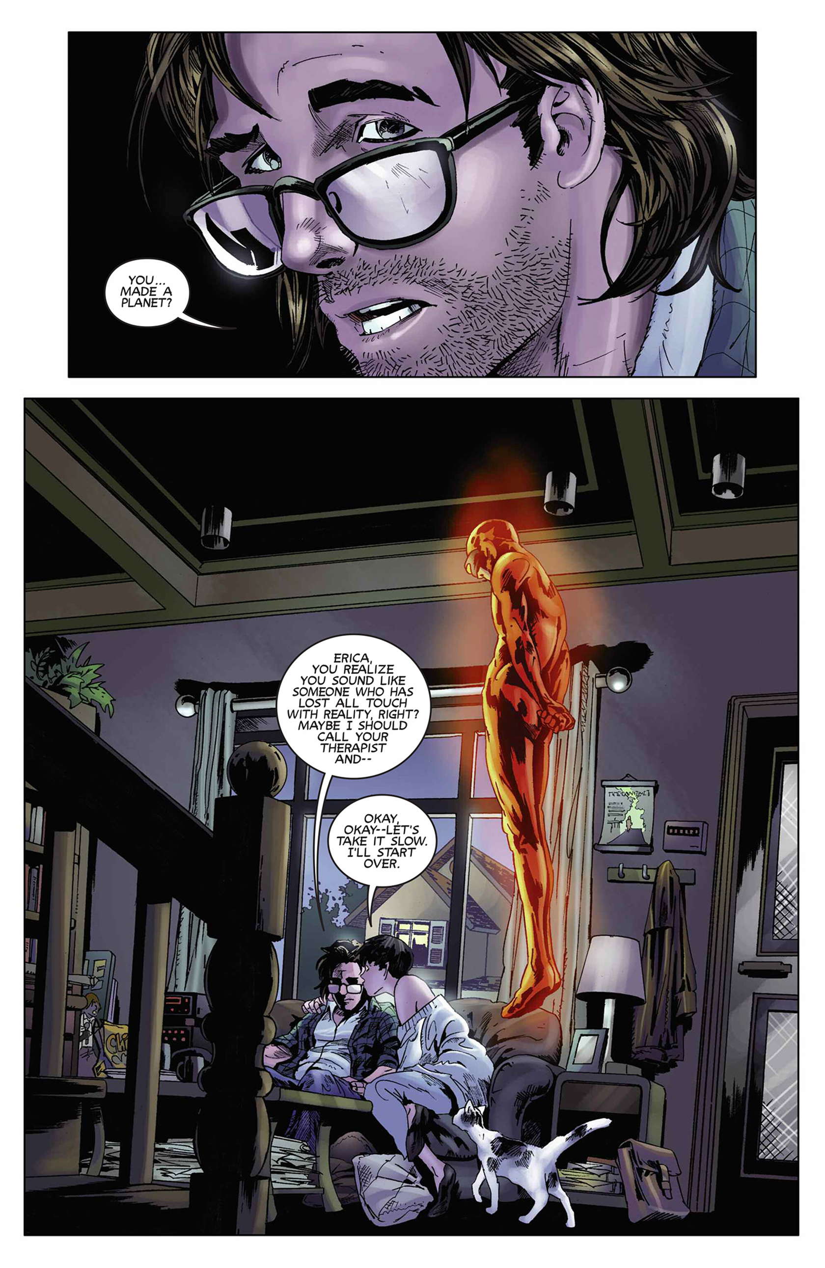 Read online Solar: Man of the Atom (2014) comic -  Issue #9 - 5