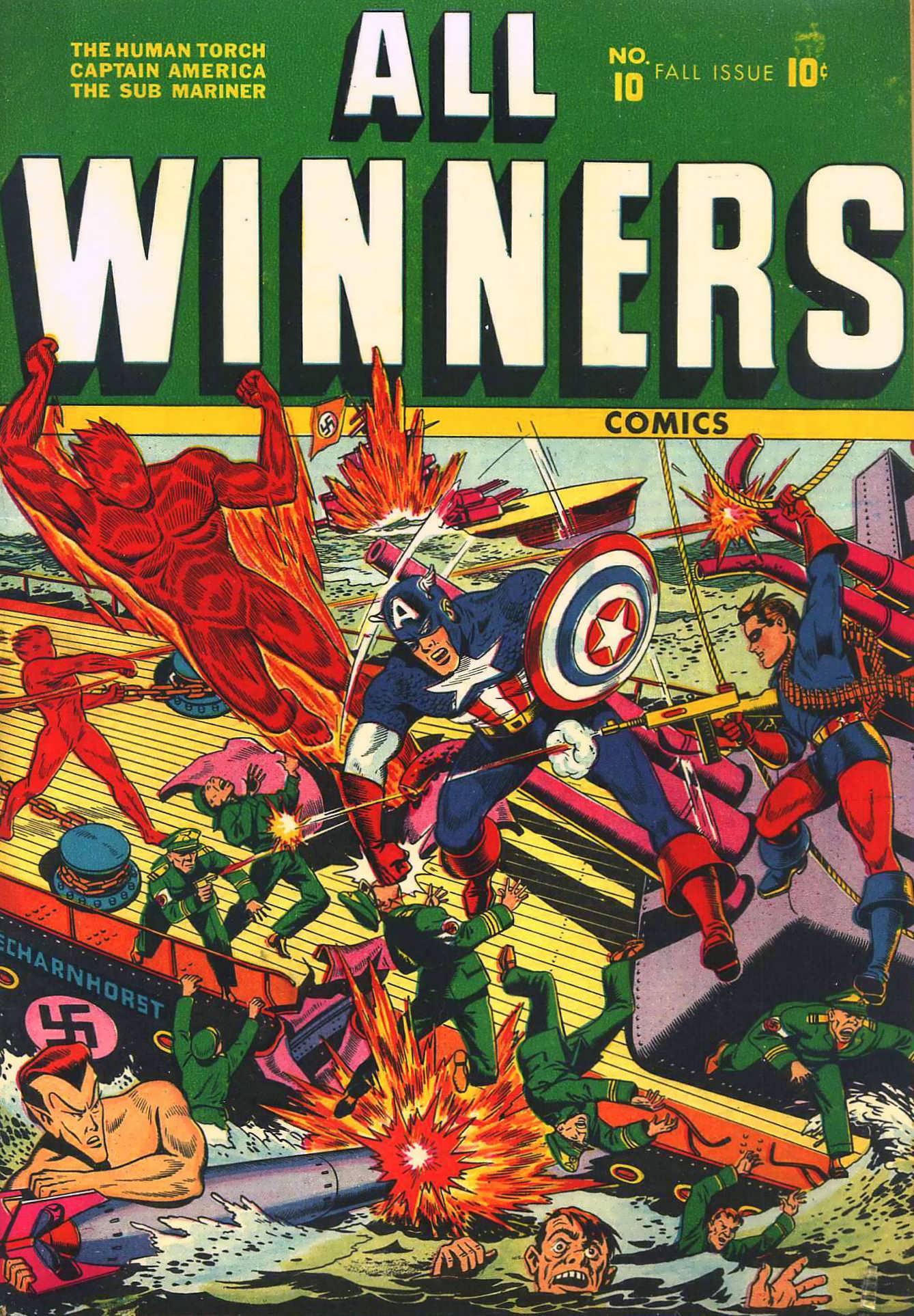 All-Winners Comics 10 Page 1