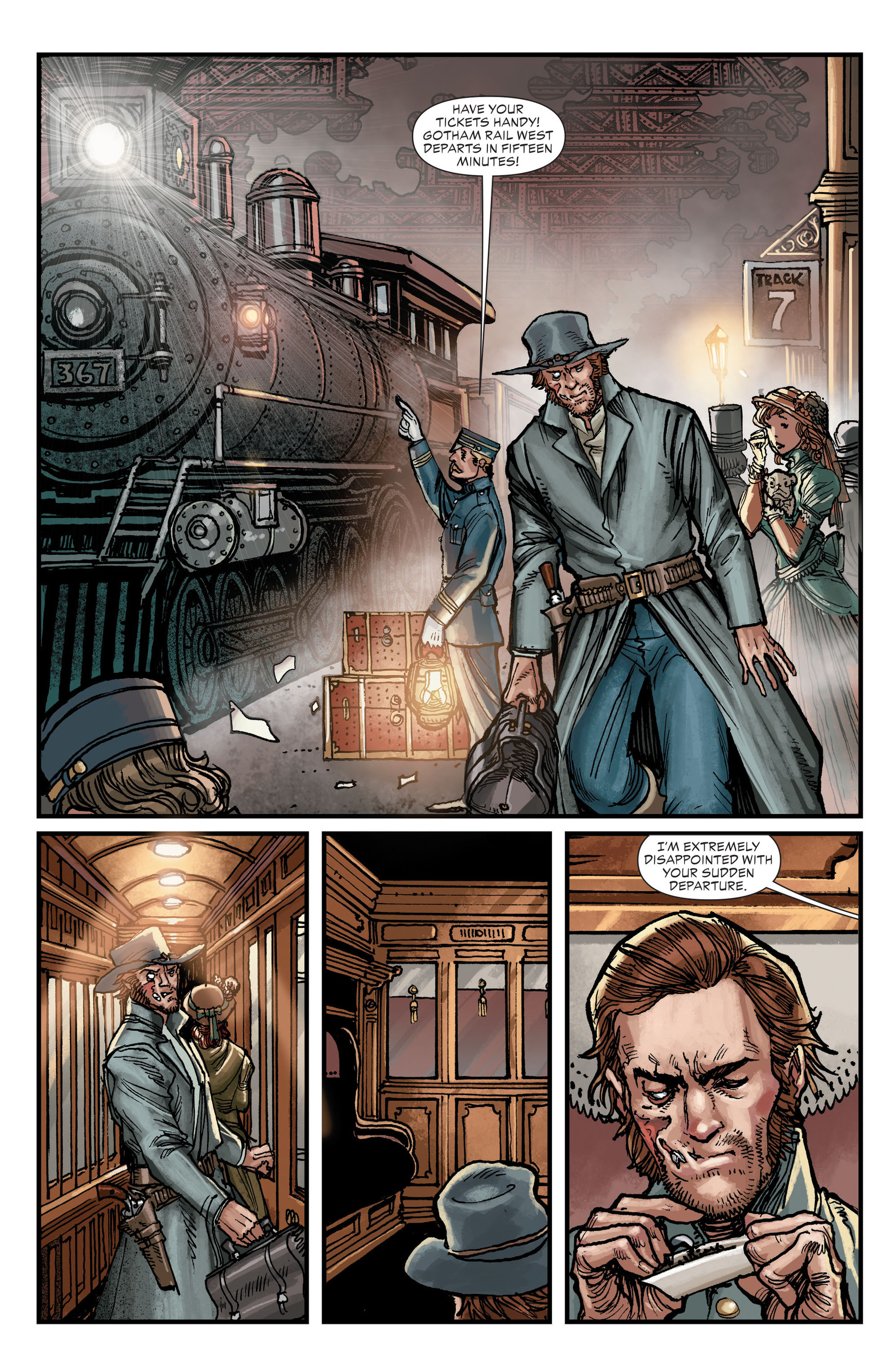 Read online All-Star Western (2011) comic -  Issue #18 - 19