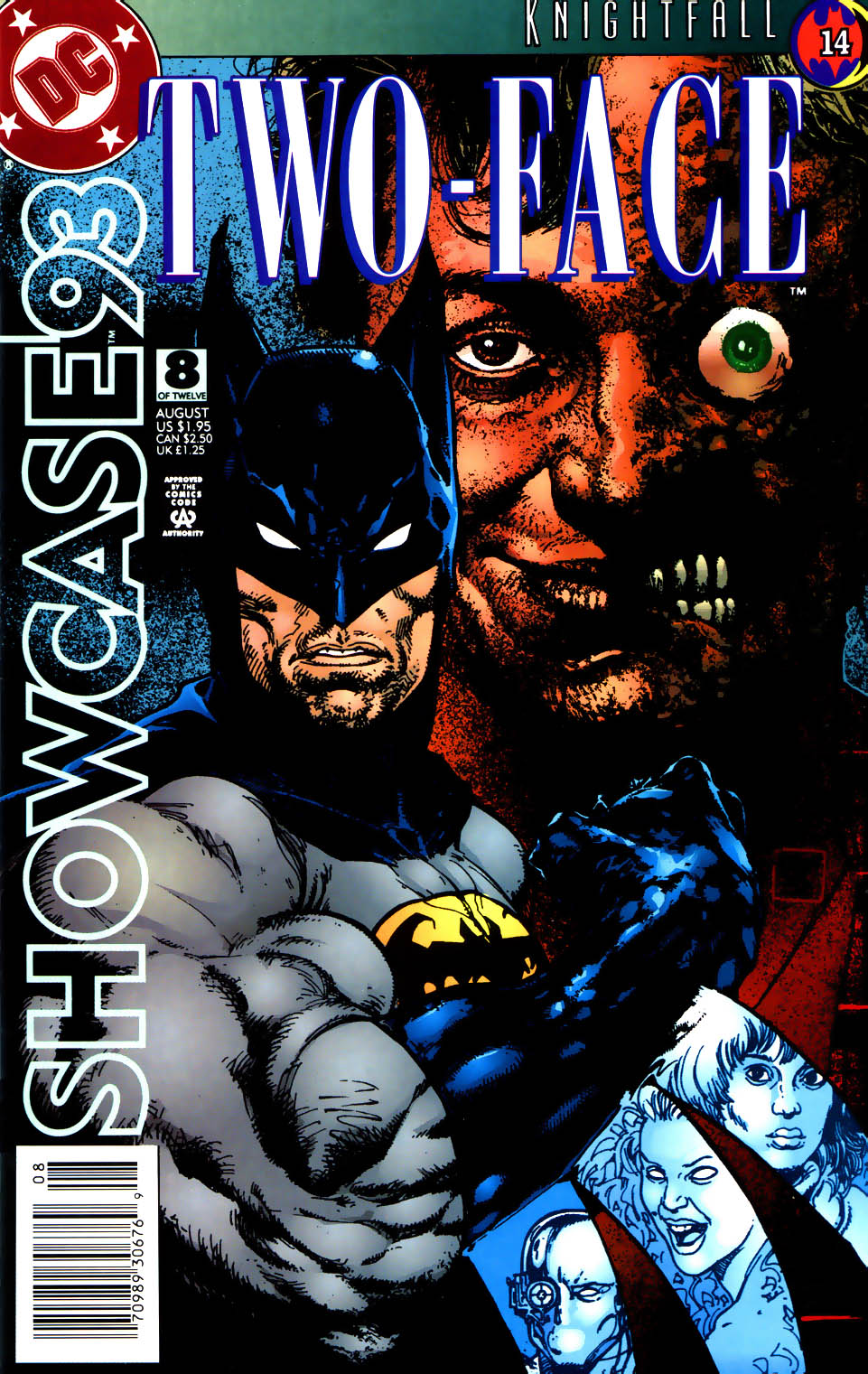 Read online Showcase '93 comic -  Issue #8 - 1