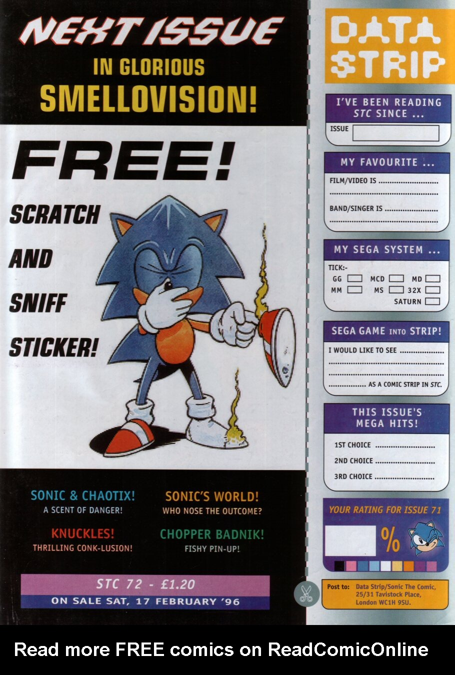 Read online Sonic the Comic comic -  Issue #71 - 30