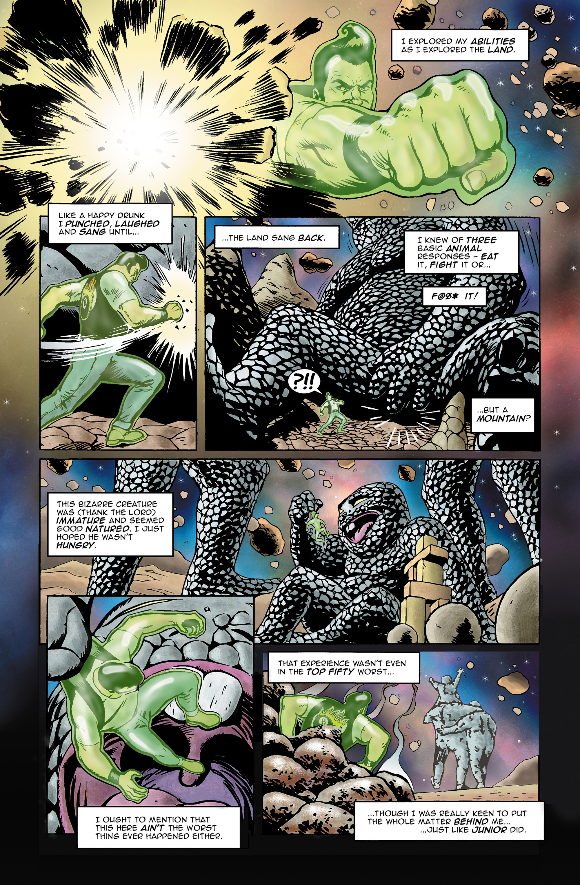 Read online 100% Biodegradable comic -  Issue #14 - 9