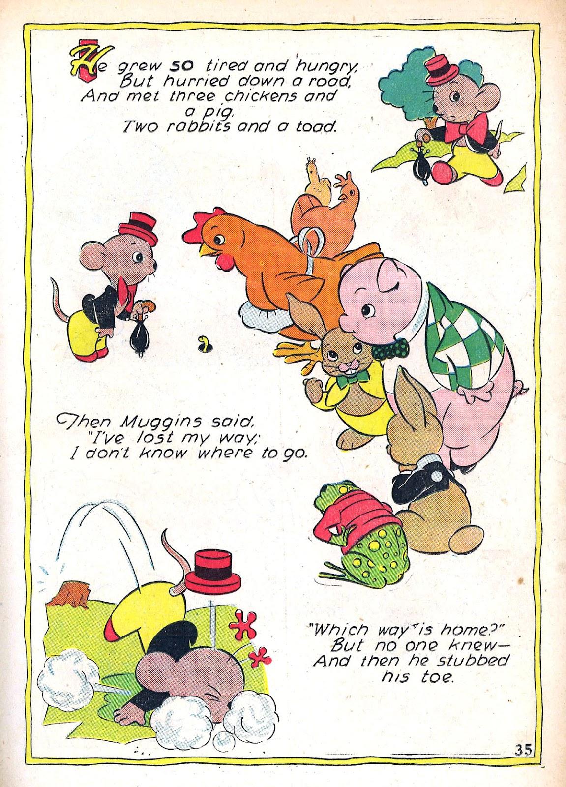 Read online Animal Comics comic -  Issue #4 - 38