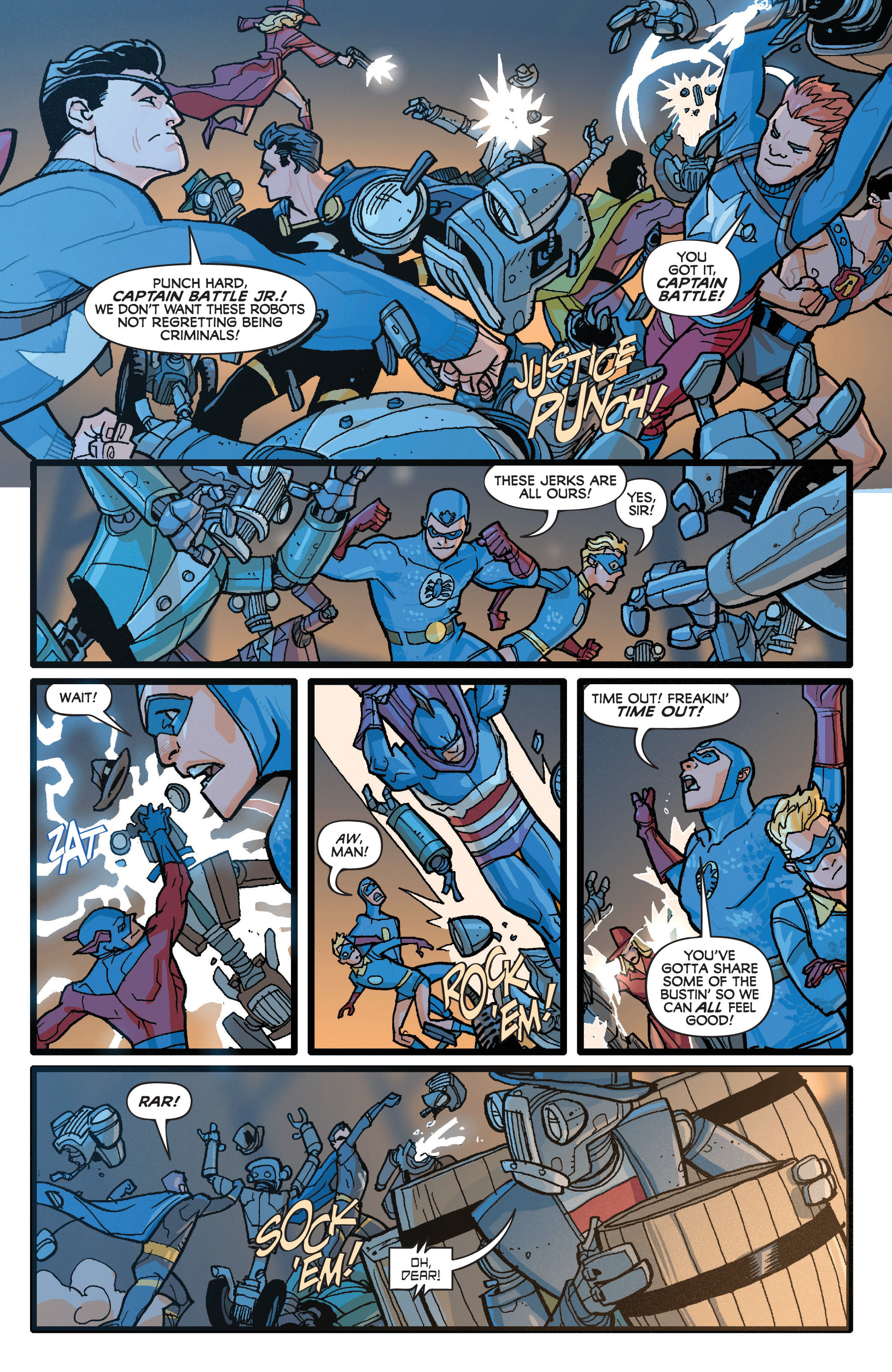 Read online Project Superpowers: Hero Killers comic -  Issue #1 - 8