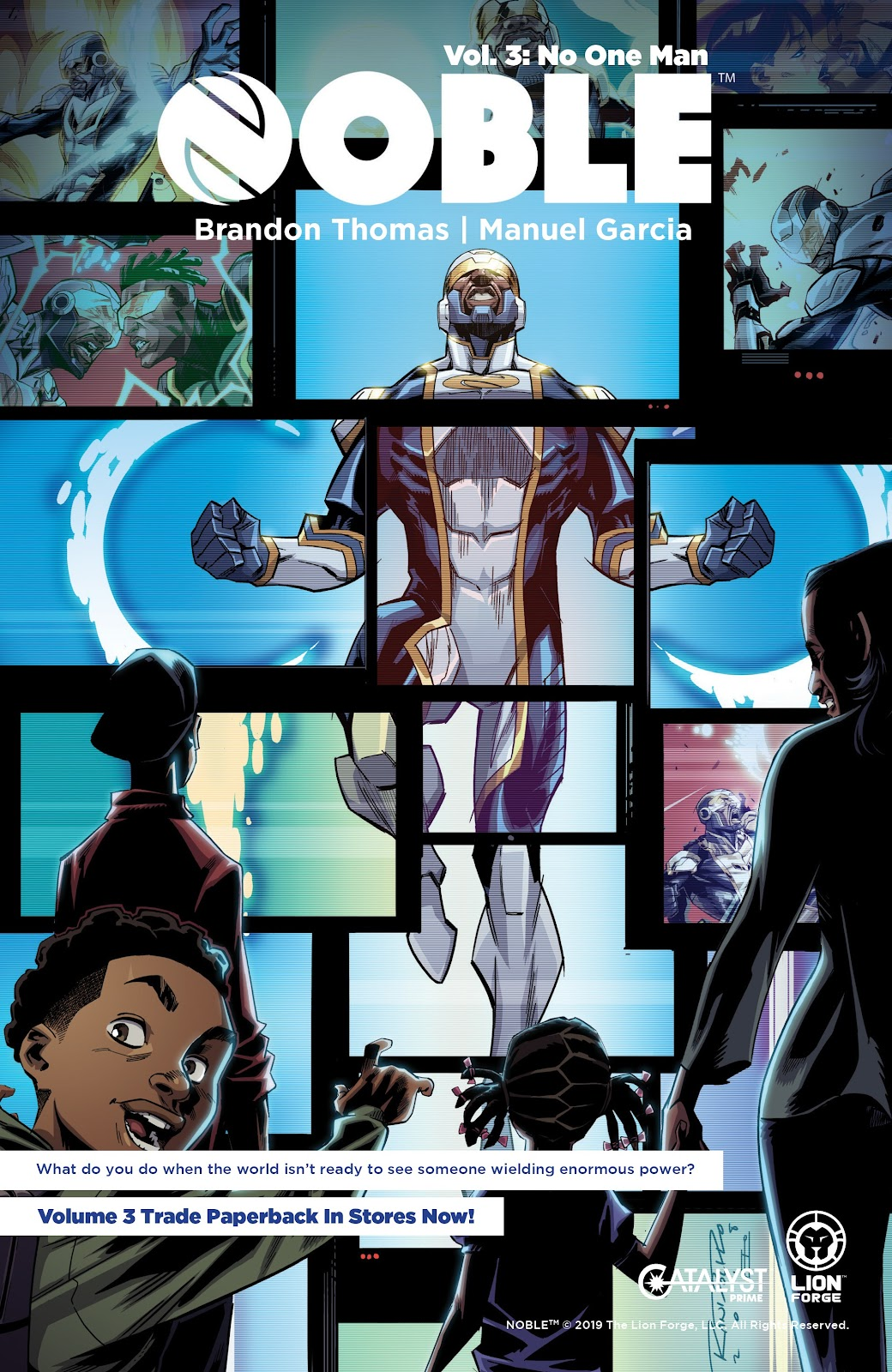 Read online Noble comic -  Issue #15 - 27