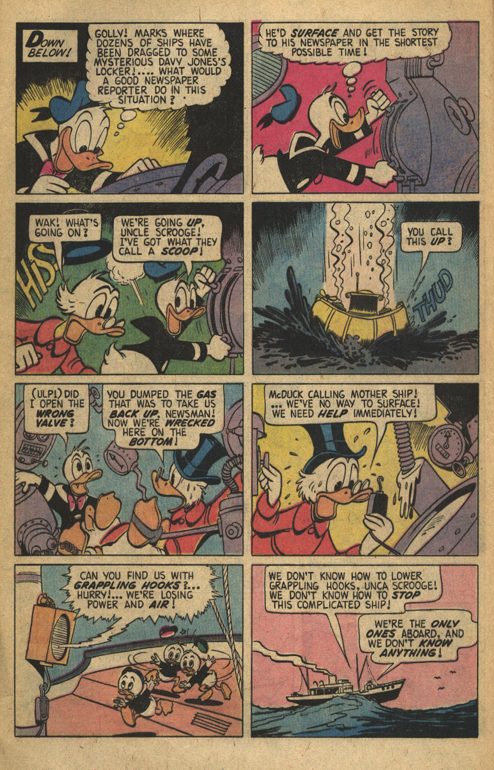Read online Uncle Scrooge (1953) comic -  Issue #149 - 16