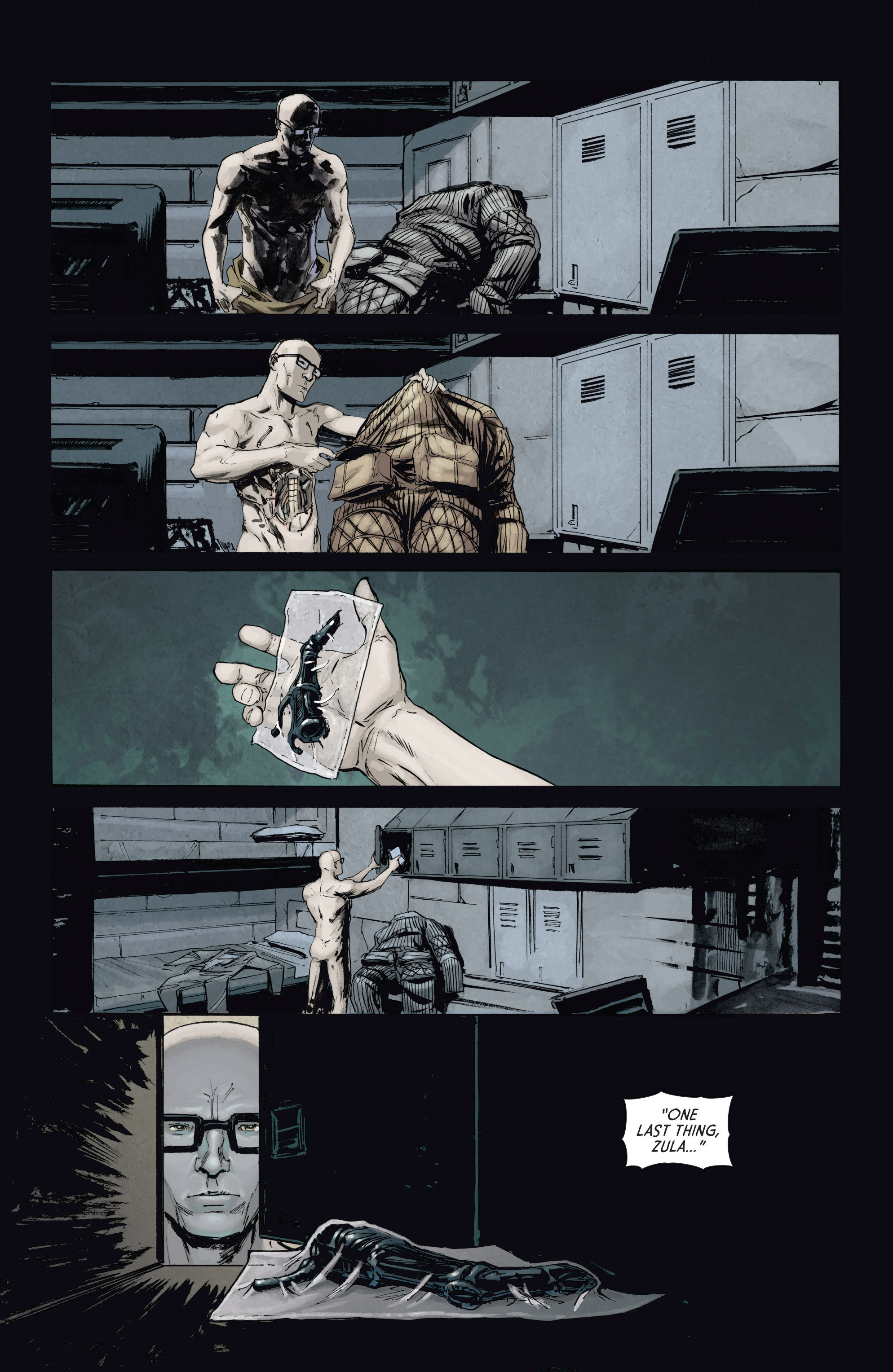 Read online Aliens: Defiance comic -  Issue #4 - 22