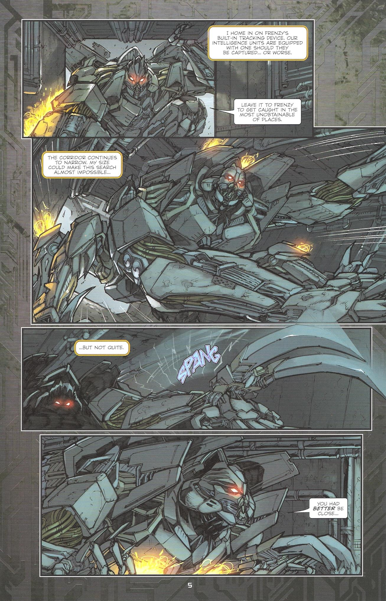 Read online Transformers: The Reign of Starscream comic -  Issue #2 - 7