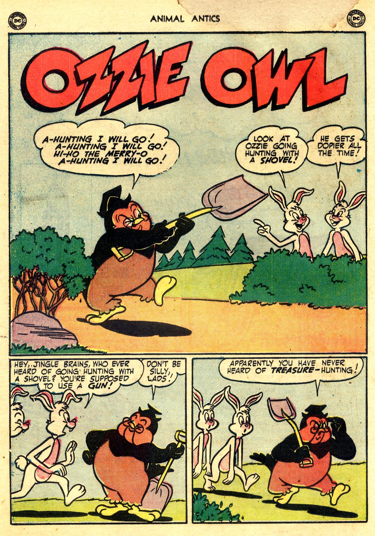 Read online Animal Antics comic -  Issue #26 - 34