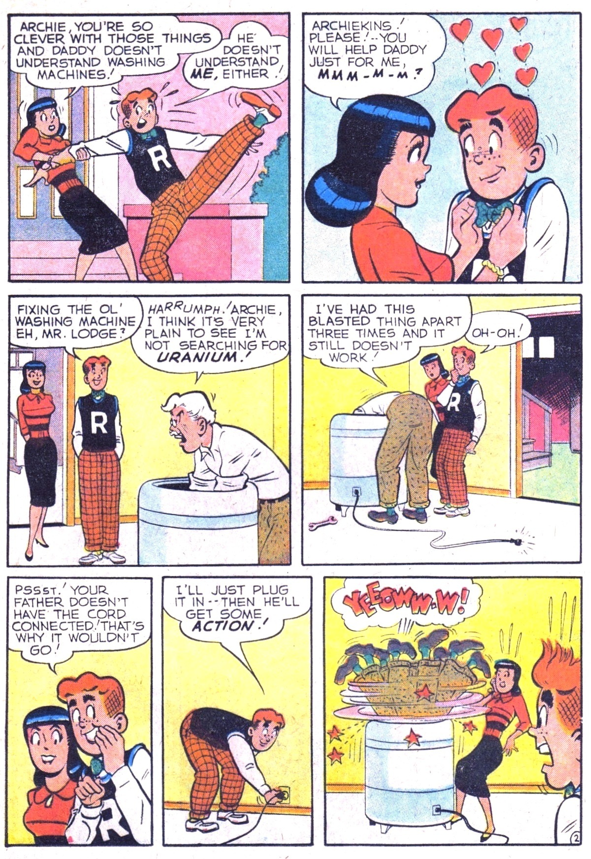 Read online Archie (1960) comic -  Issue #116 - 21