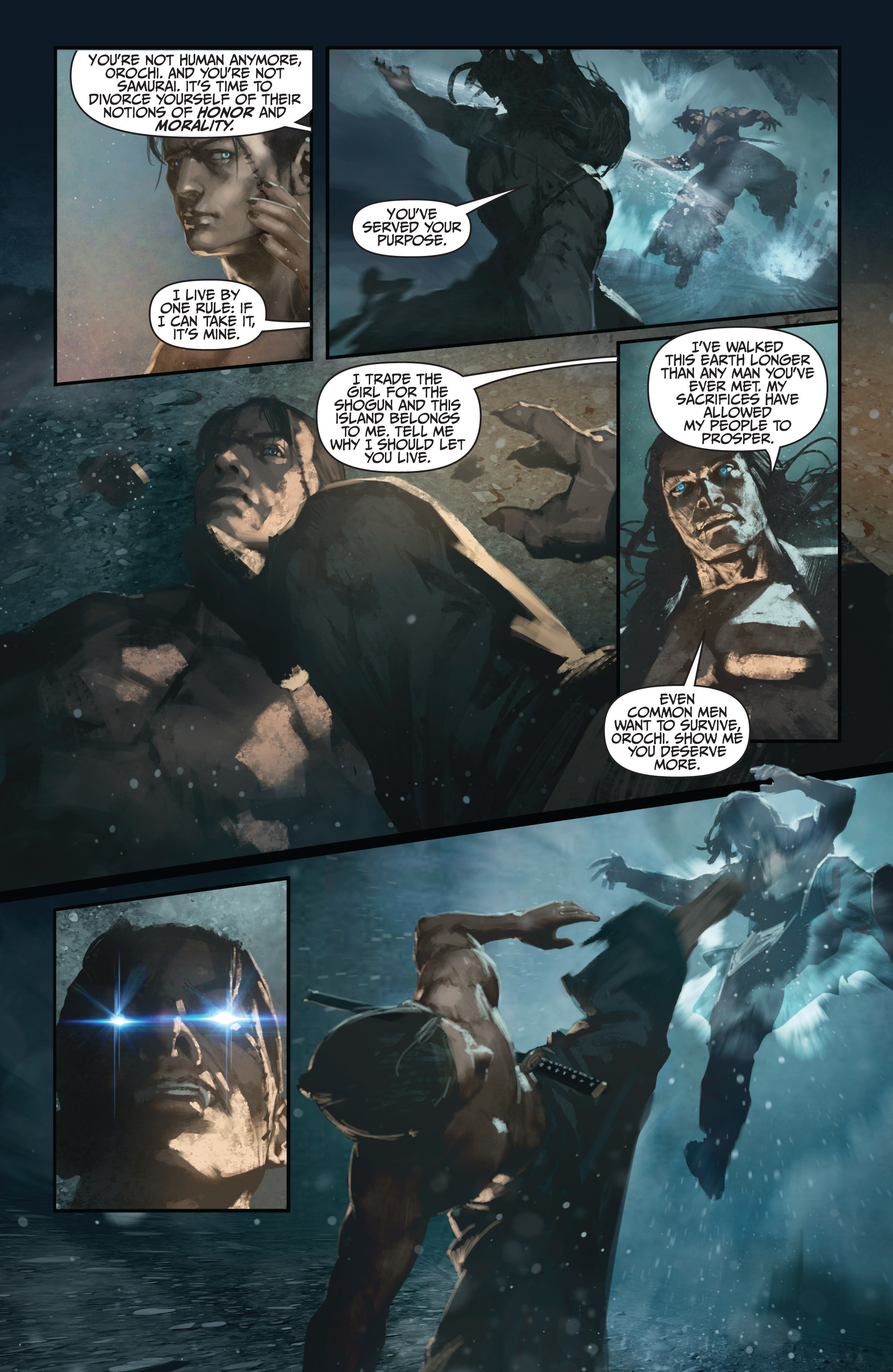 Read online Bushido: The Way of the Warrior comic -  Issue #4 - 6