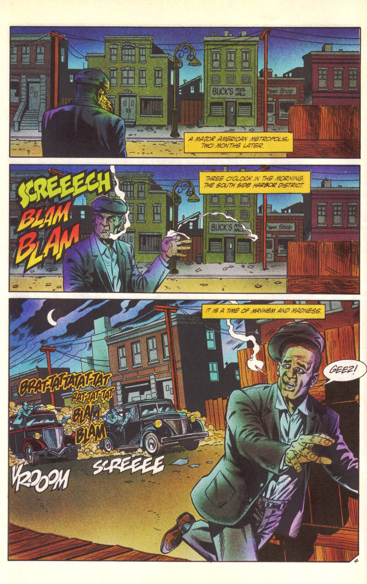 Read online Sting of The Green Hornet comic -  Issue #1 - 5
