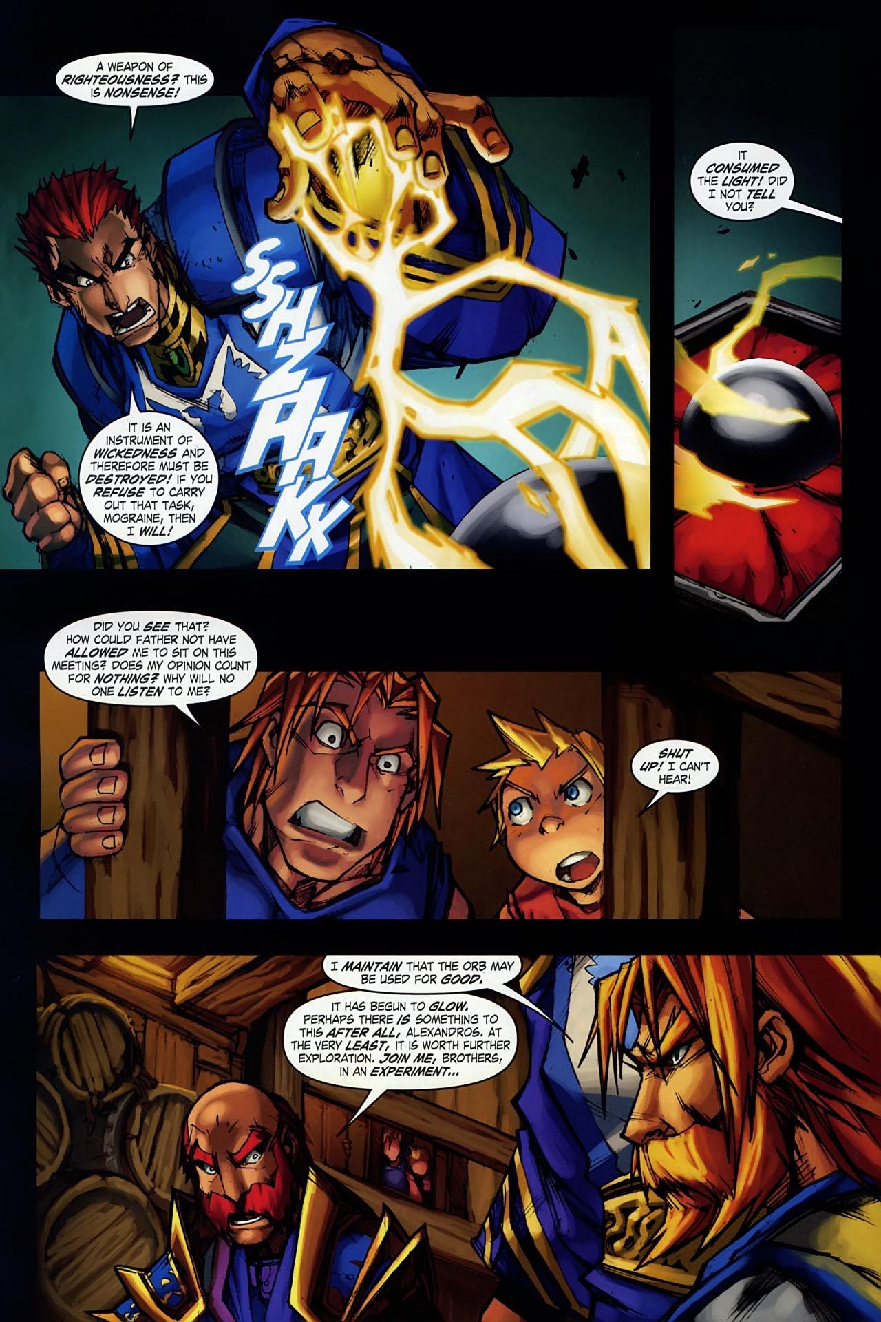 Read online World of Warcraft: Ashbringer comic -  Issue #1 - 10