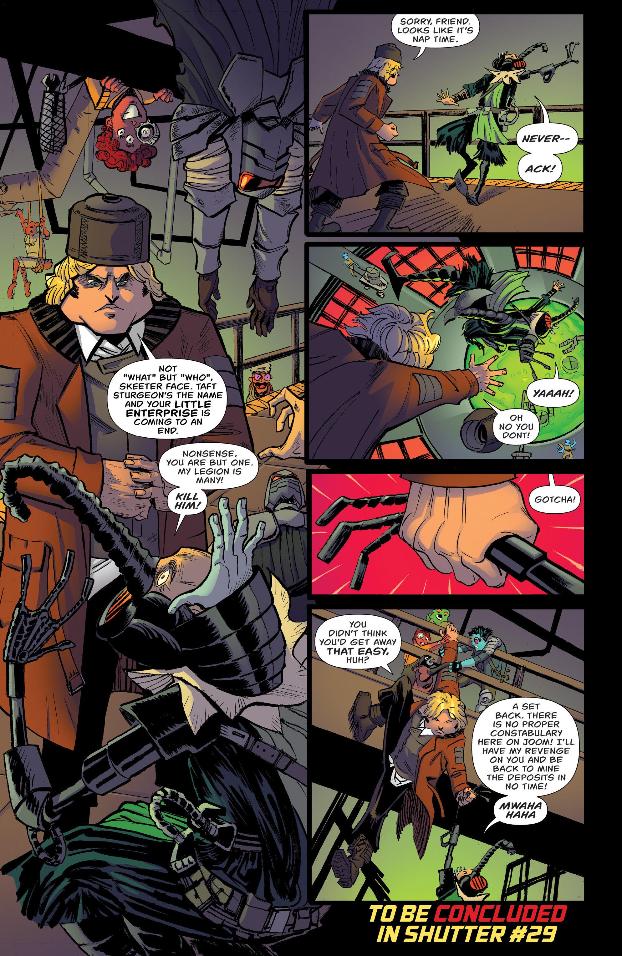 Read online Shutter comic -  Issue #27 - 29