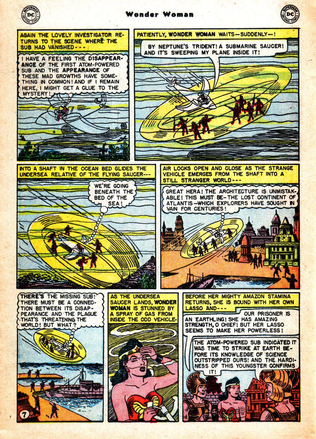 Read online Wonder Woman (1942) comic -  Issue #57 - 23