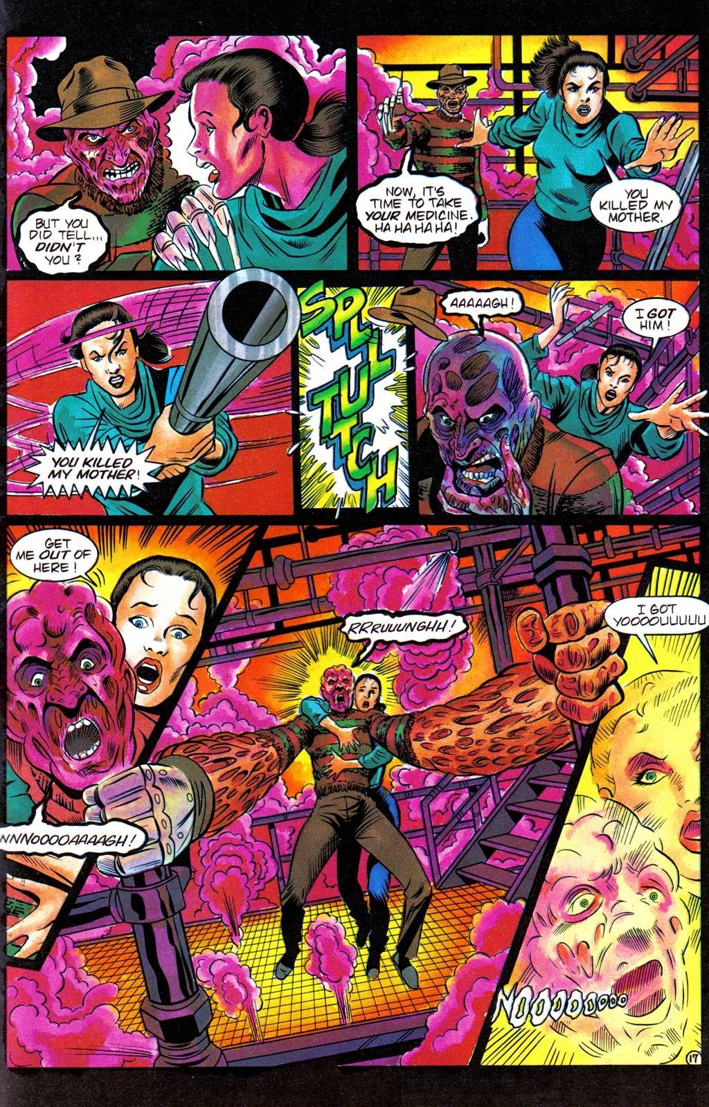 Read online Freddy's Dead: The Final Nightmare comic -  Issue #3 - 20