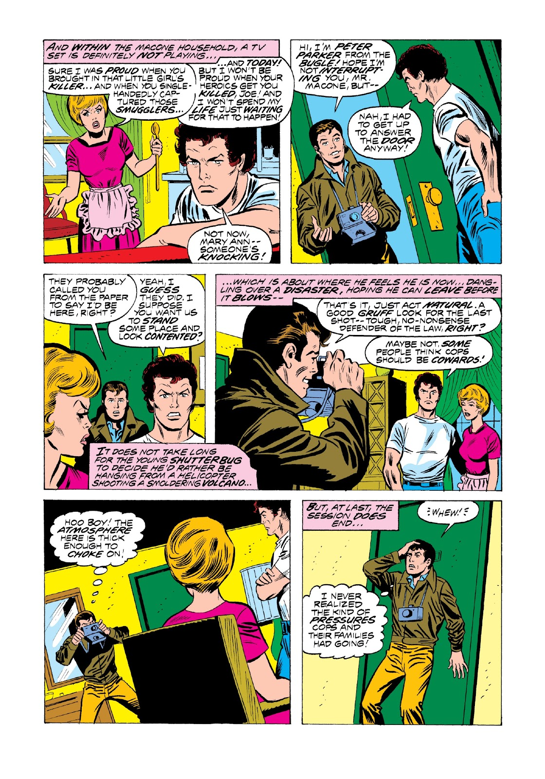 Read online Marvel Masterworks: The Spectacular Spider-Man comic -  Issue # TPB 2 (Part 1) - 14