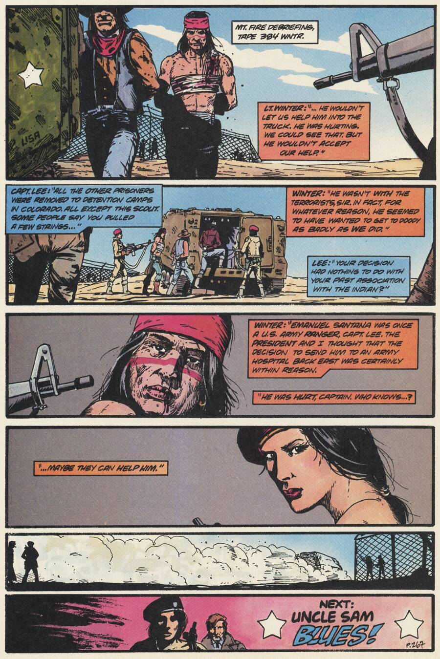 Read online Scout comic -  Issue #14 - 19