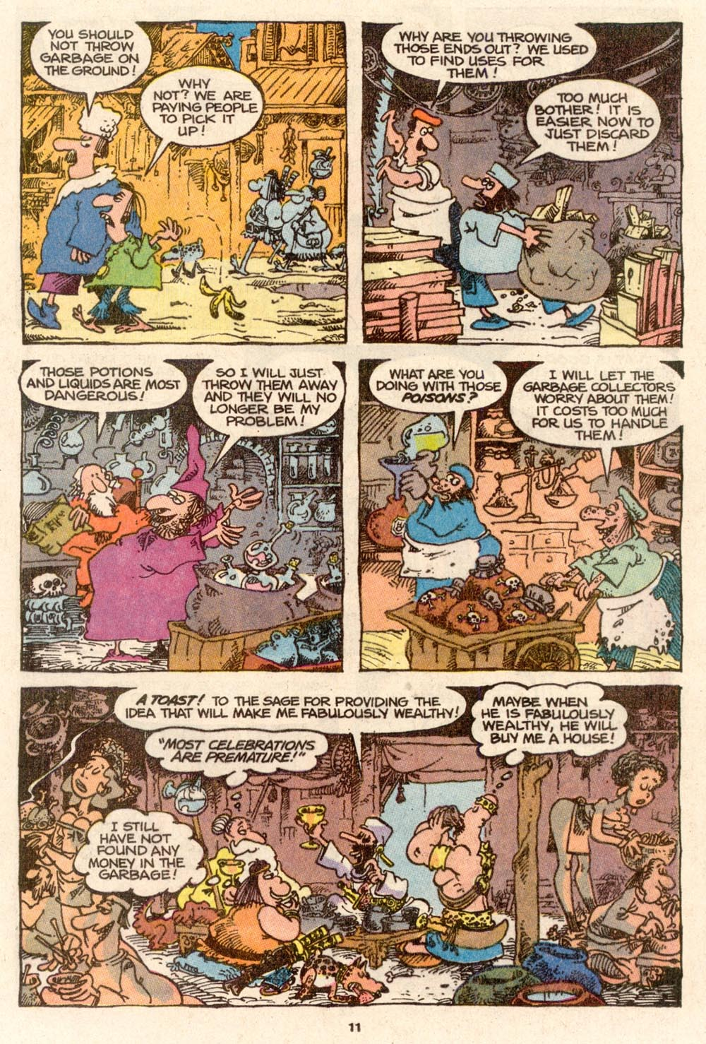 Read online Sergio Aragonés Groo the Wanderer comic -  Issue #65 - 11