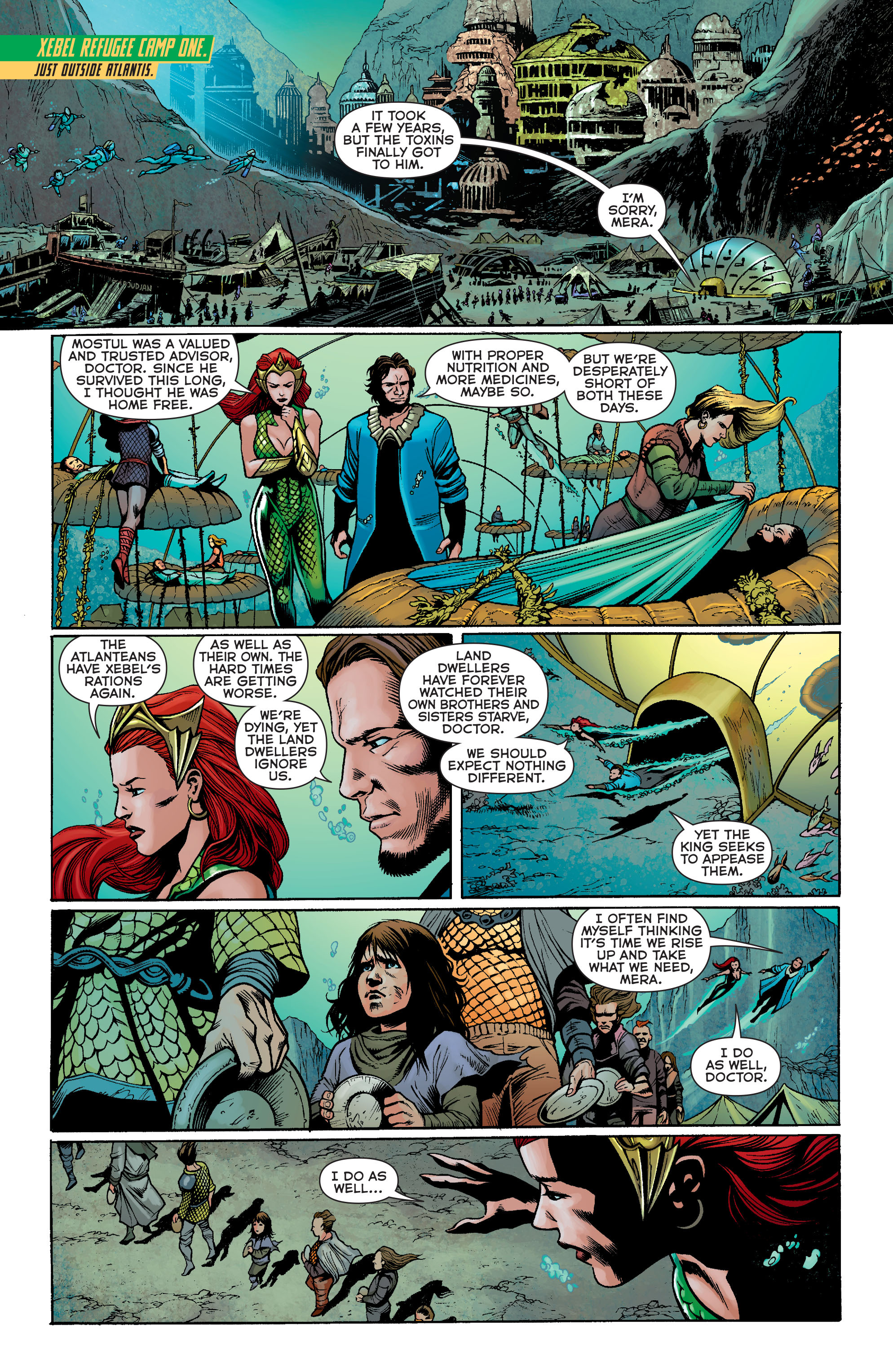Read online Aquaman: Futures End comic -  Issue #Aquaman: Futures End Full - 13