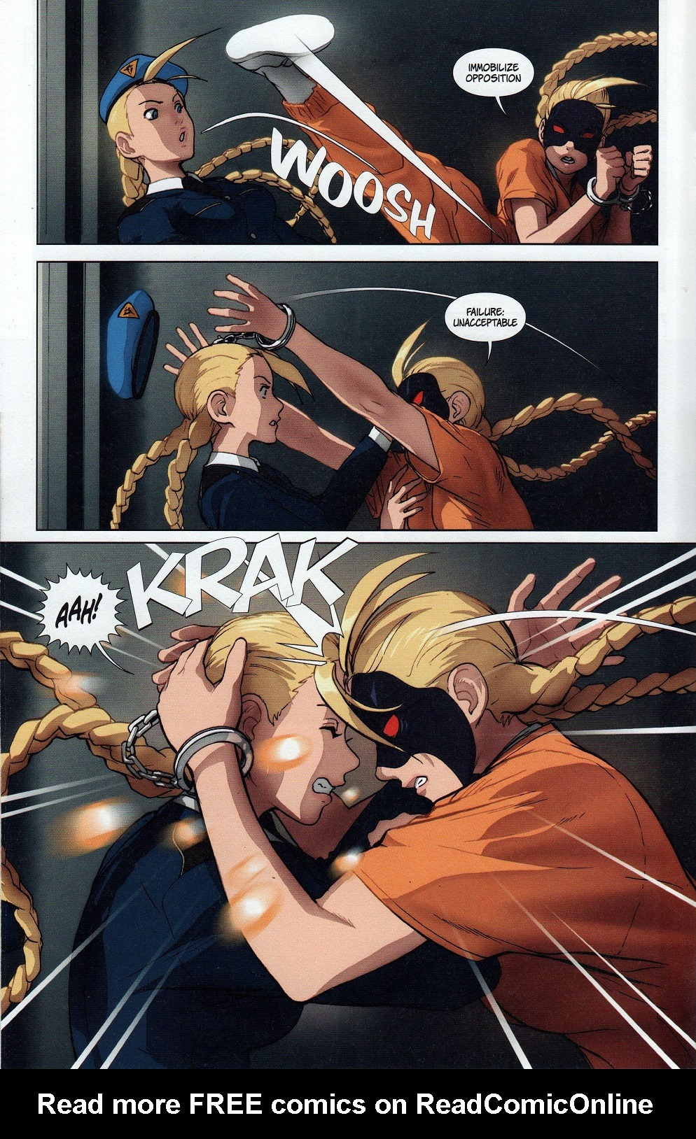 Street Fighter Legends: Cammy 2 Page 14