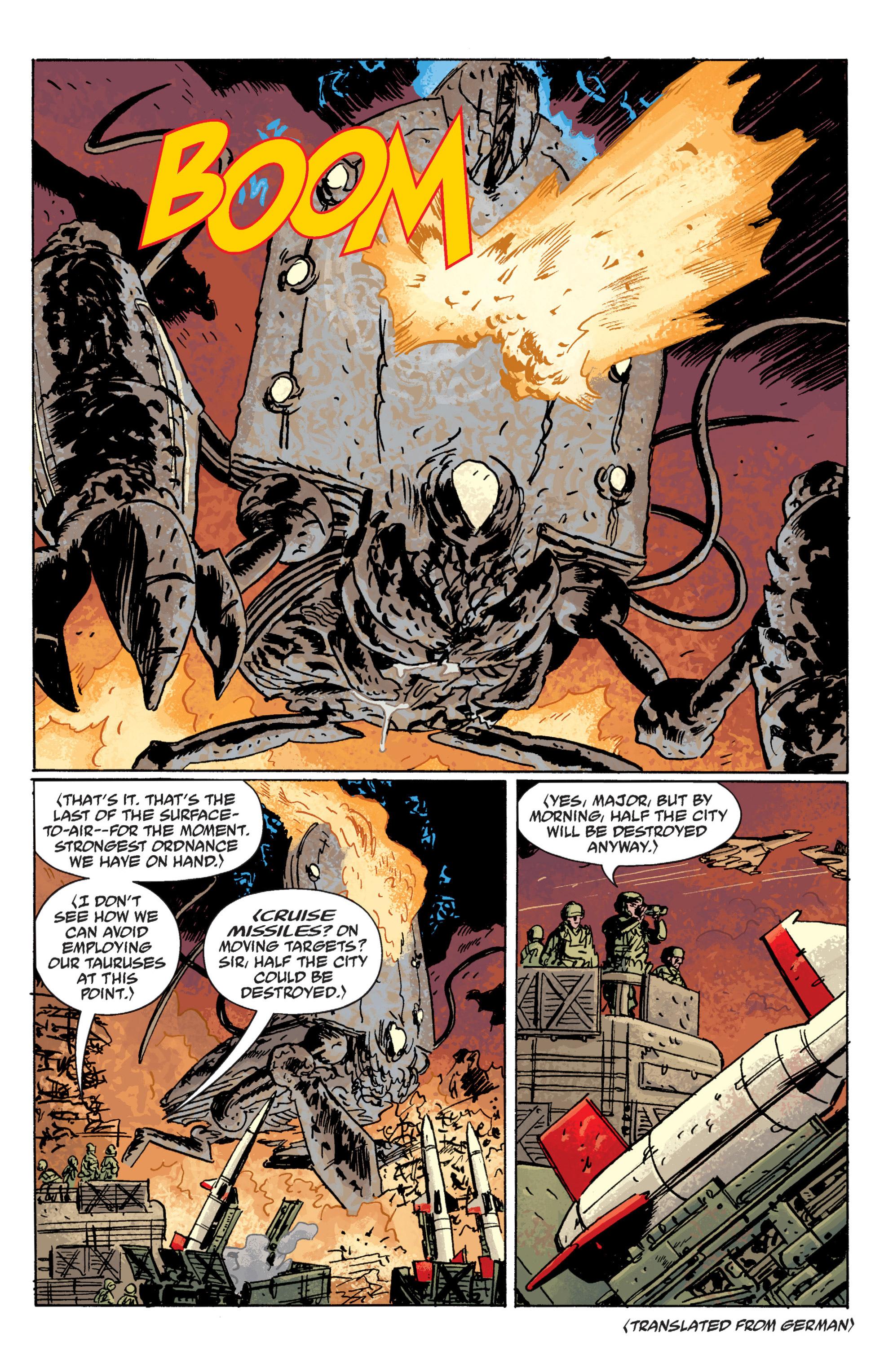 Read online B.P.R.D. (2003) comic -  Issue # TPB 10 - 104