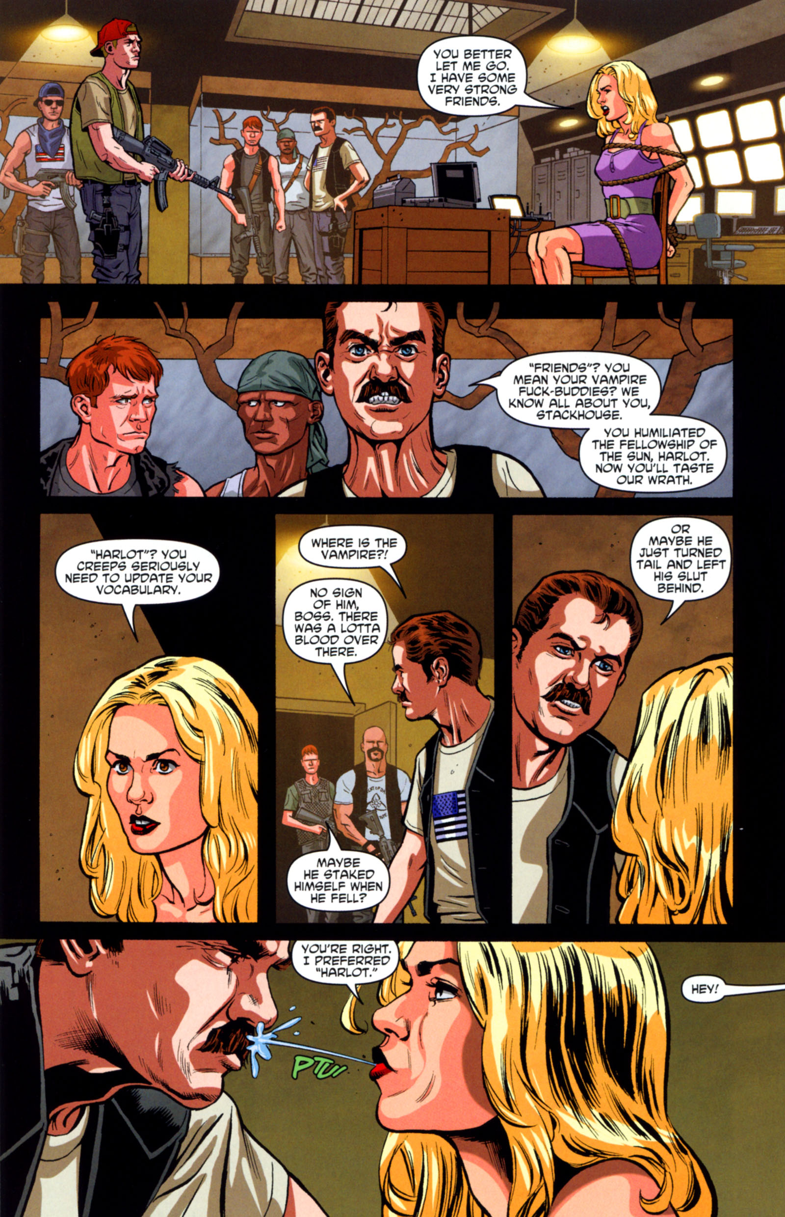 Read online True Blood: Tainted Love comic -  Issue #6 - 8
