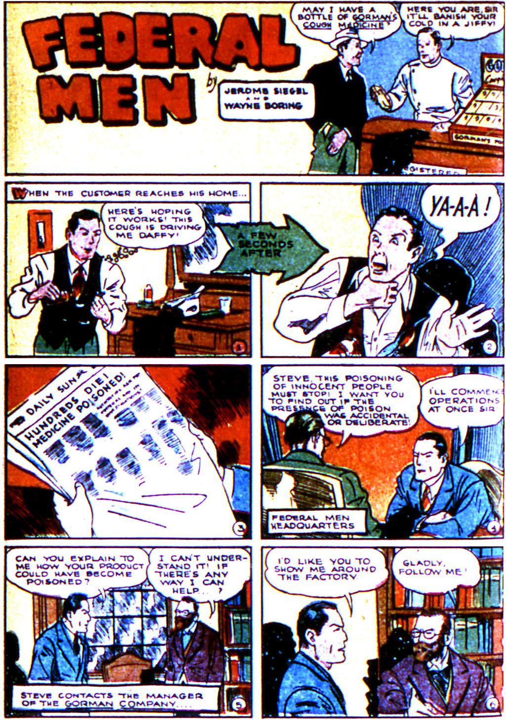 Read online Adventure Comics (1938) comic -  Issue #43 - 16