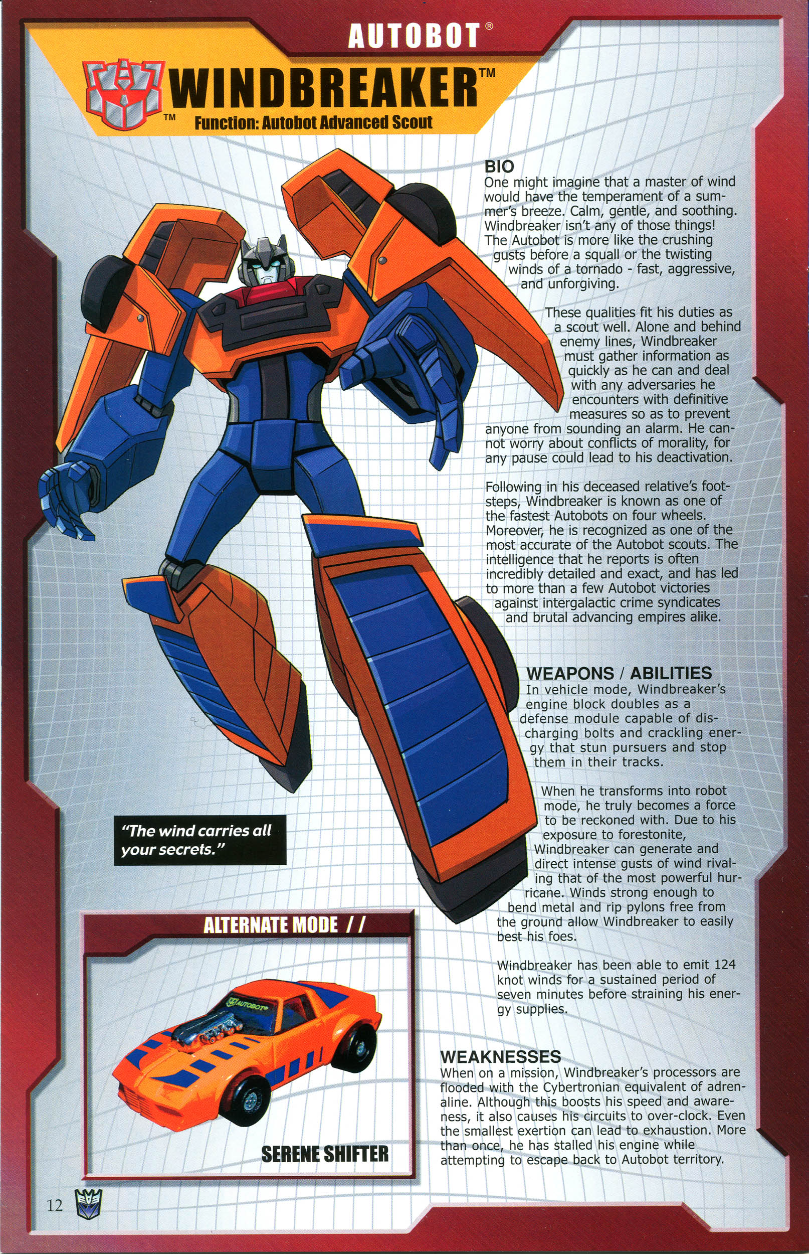 Read online Transformers: Collectors' Club comic -  Issue #45 - 12