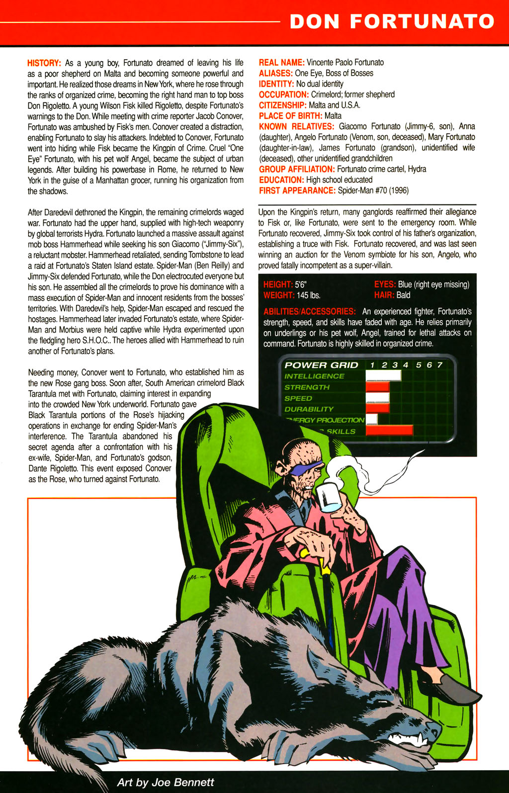 Read online All-New Official Handbook of the Marvel Universe A to Z comic -  Issue #4 - 45