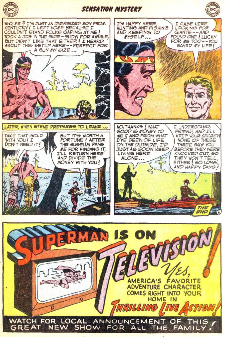 Read online Sensation (Mystery) Comics comic -  Issue #115 - 33