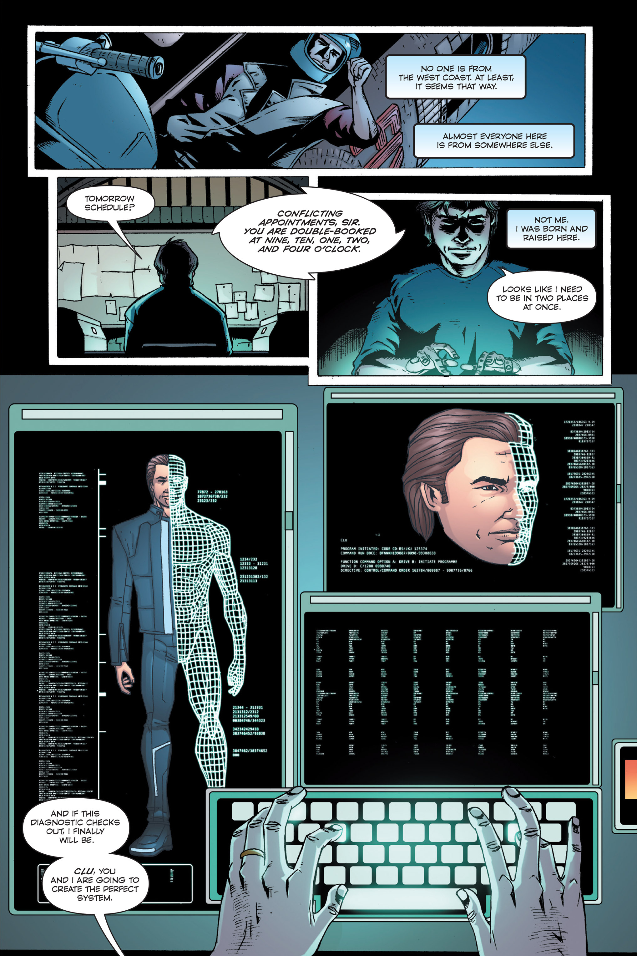 Read online TRON: Betrayal comic -  Issue # TPB - 25