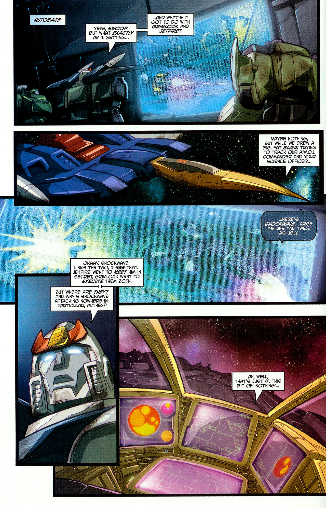 "Read online Transformers War Within: ""The Dark Ages"" comic -  Issue #6 - 7"