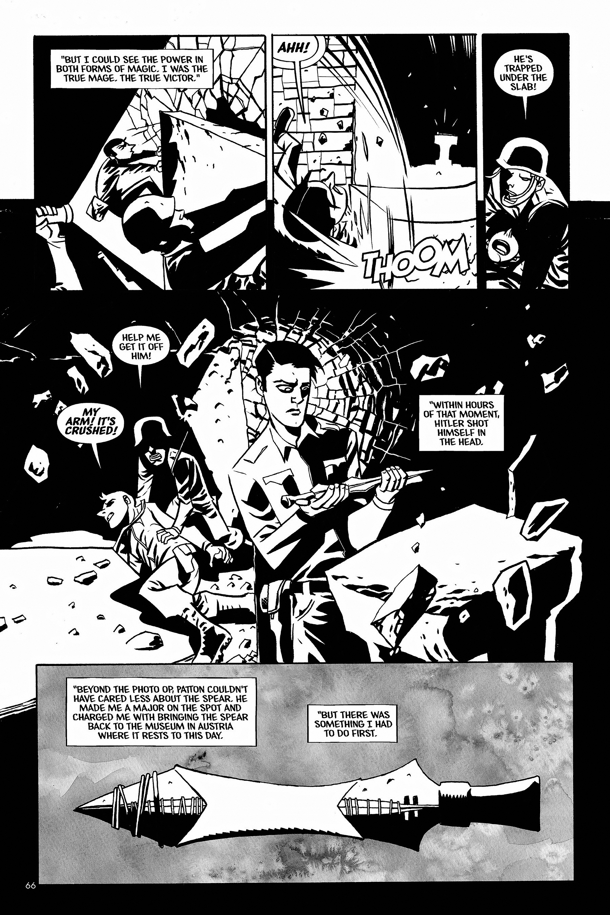Read online Aleister & Adolf comic -  Issue # TPB - 64