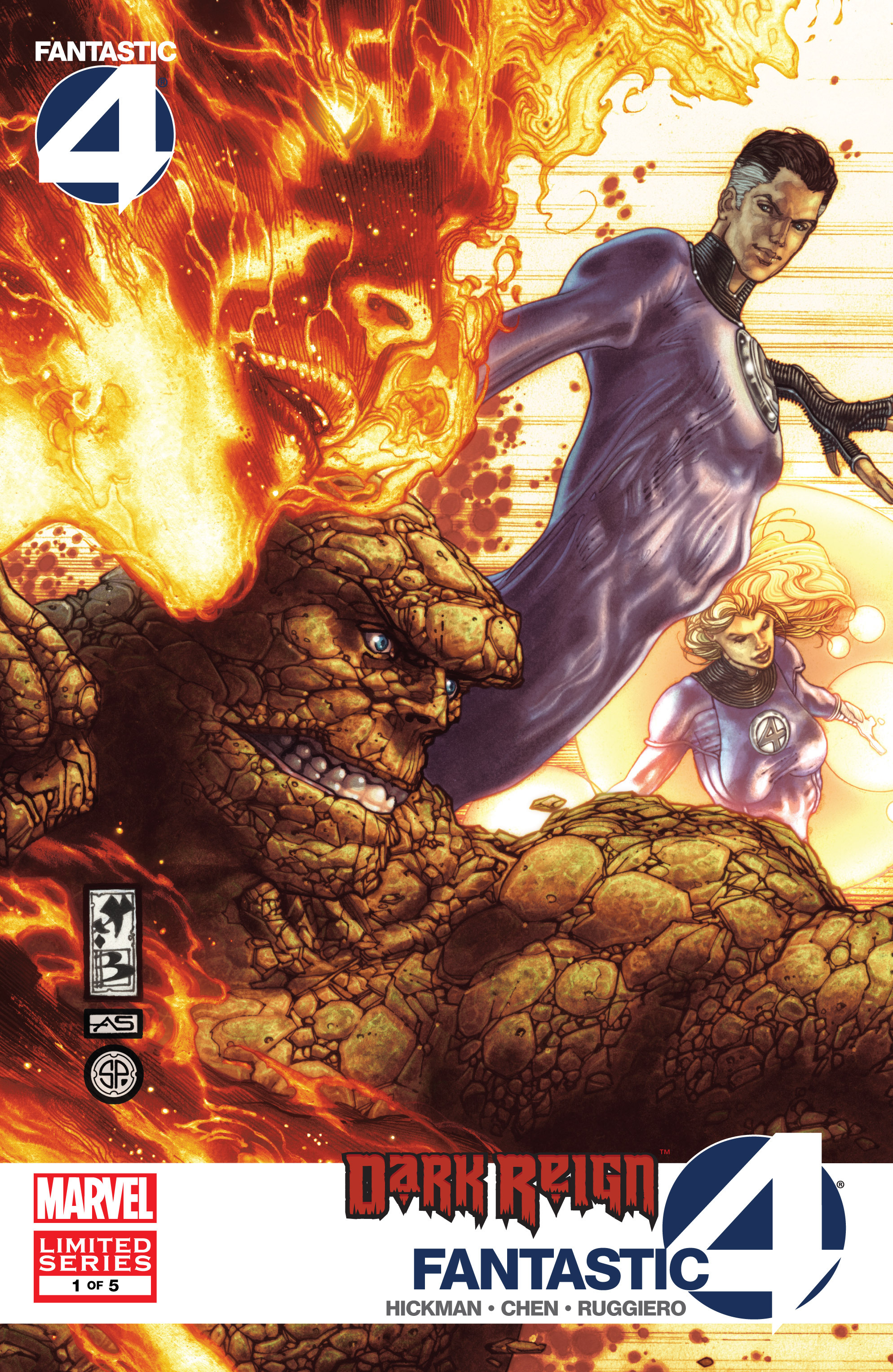 Dark Reign: Fantastic Four issue 1 - Page 1