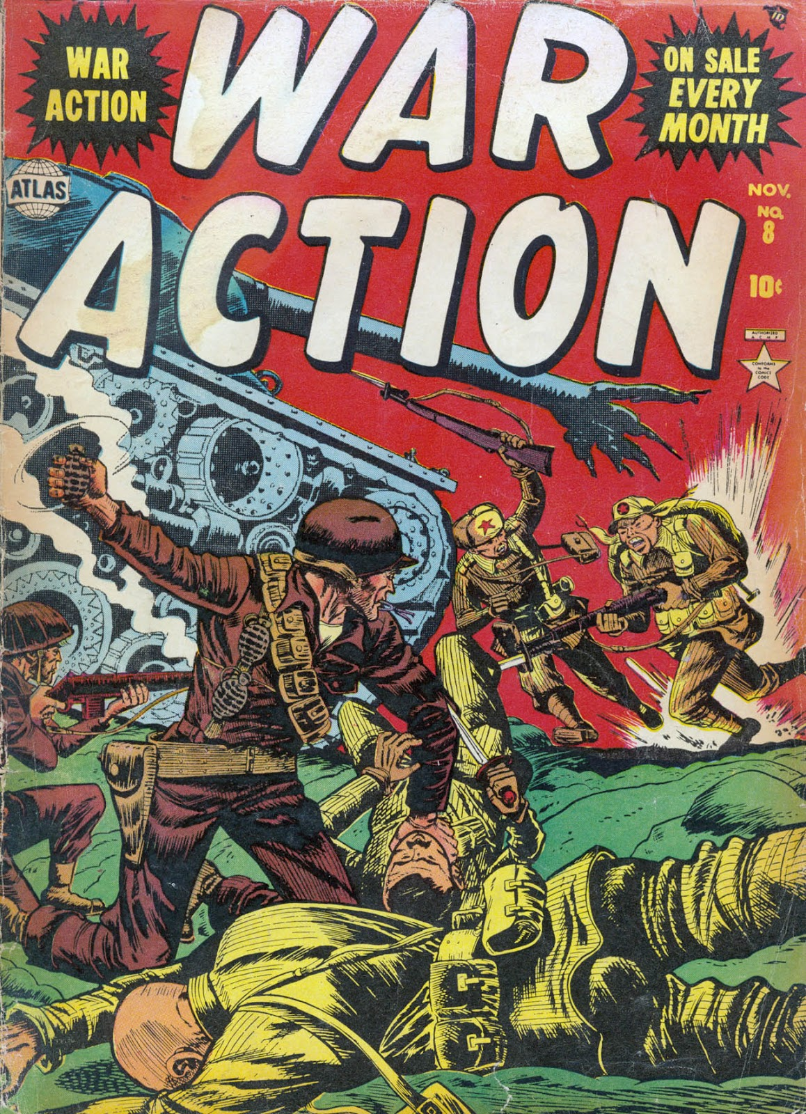 War Action issue 8 - Page 1