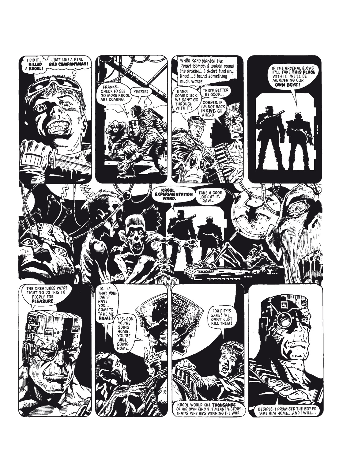 Read online The Complete Bad Company comic -  Issue # TPB - 31