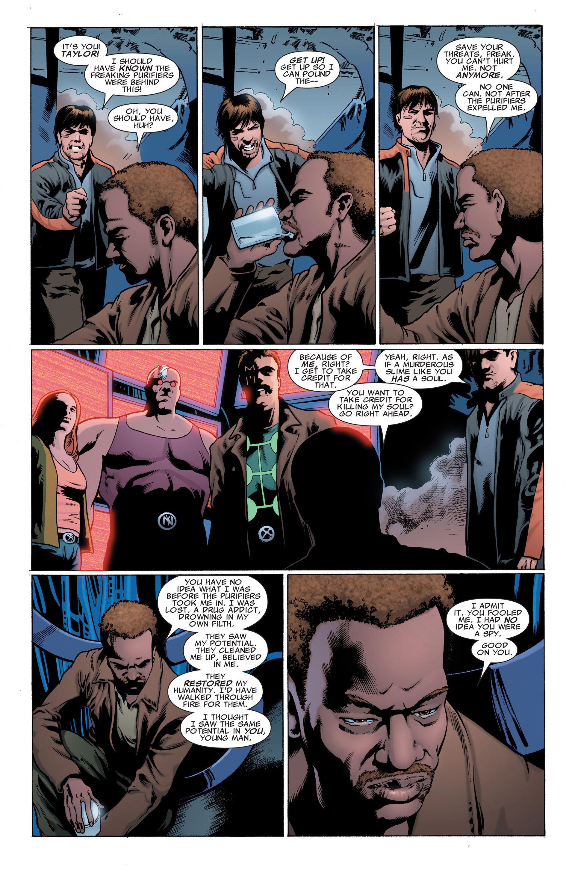 Read online X-Factor (2006) comic -  Issue #30 - 23