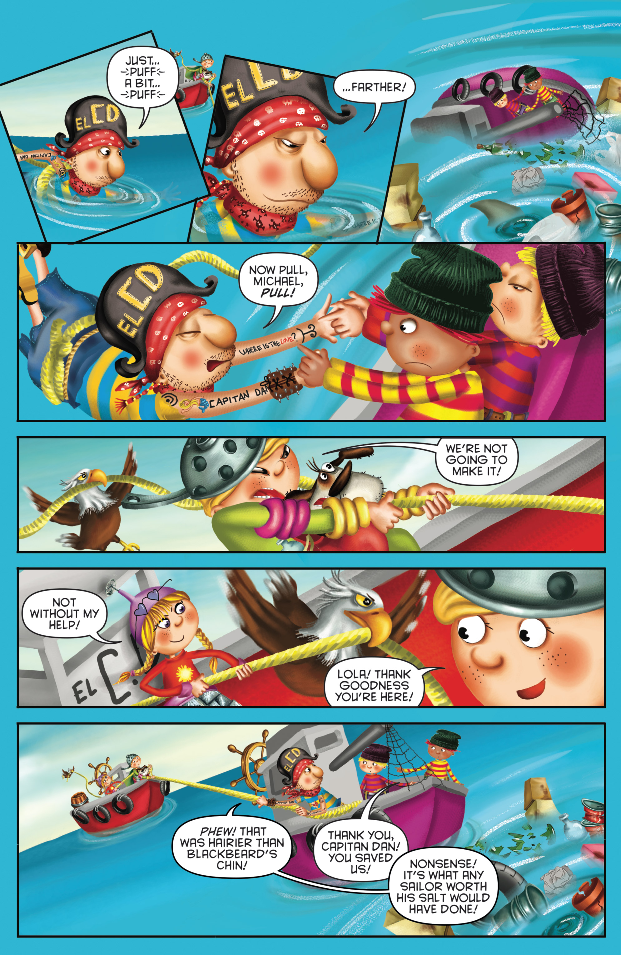Read online Michael Recycle comic -  Issue #4 - 14