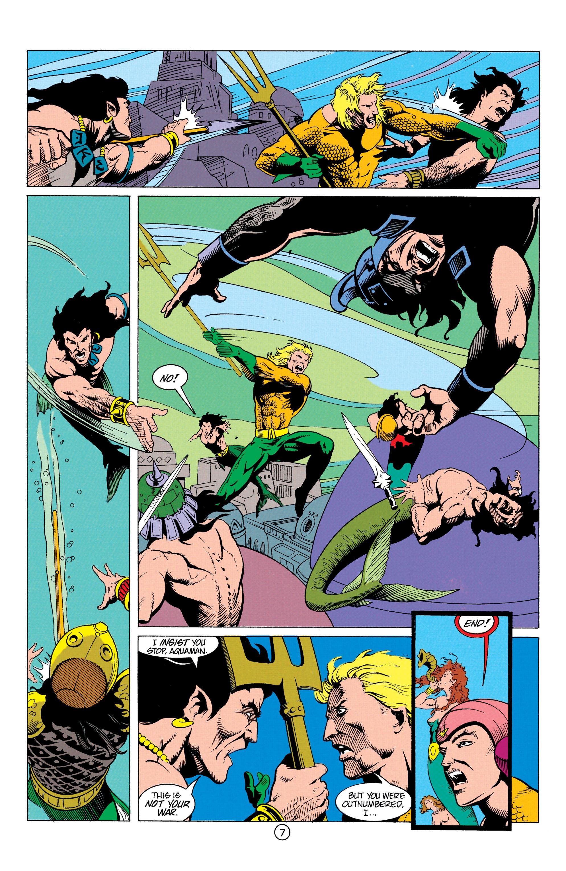 Read online Aquaman (1991) comic -  Issue #12 - 8