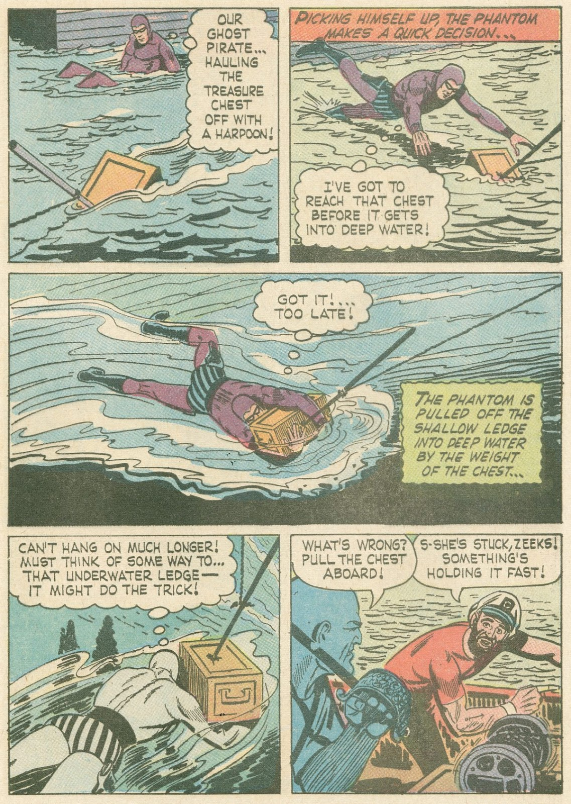 The Phantom (1966) issue 21 - Page 8